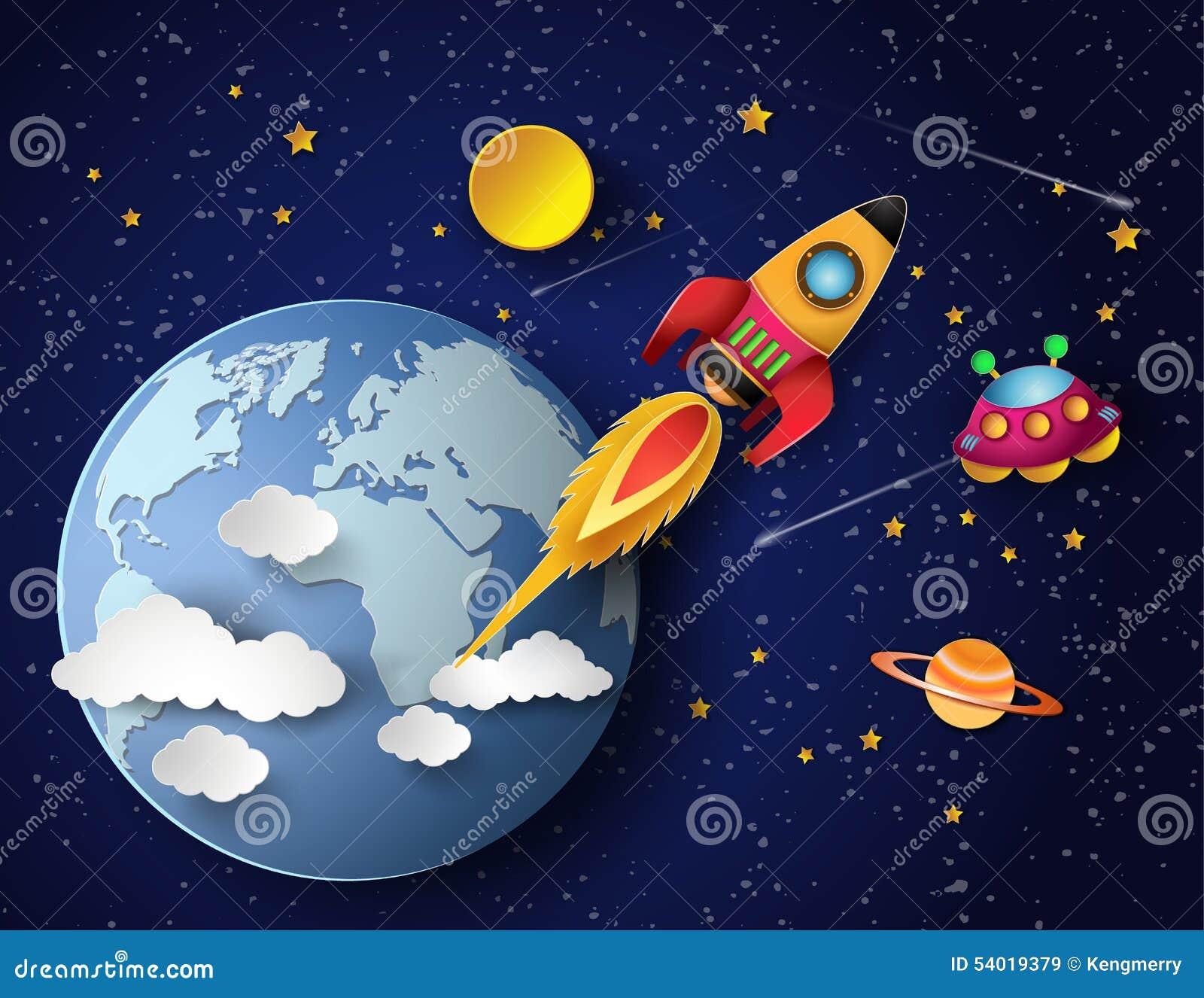 Мультик космос своими руками