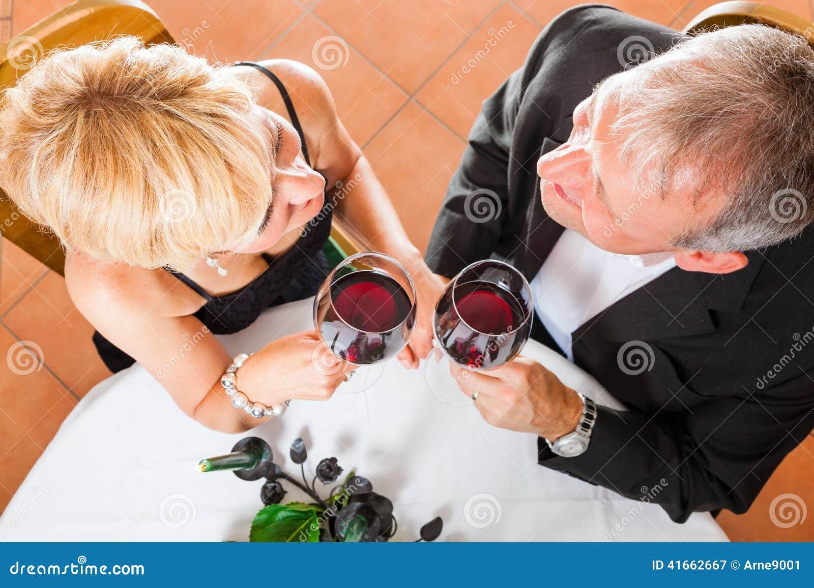 Старшие пары есть обедающий