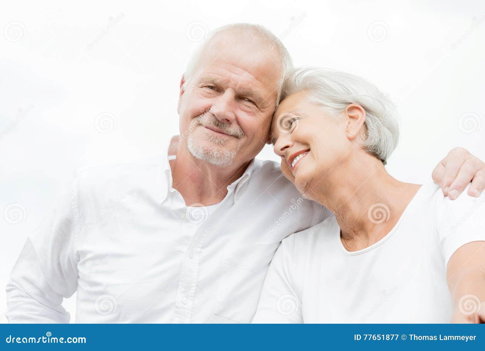 старший пар счастливый
