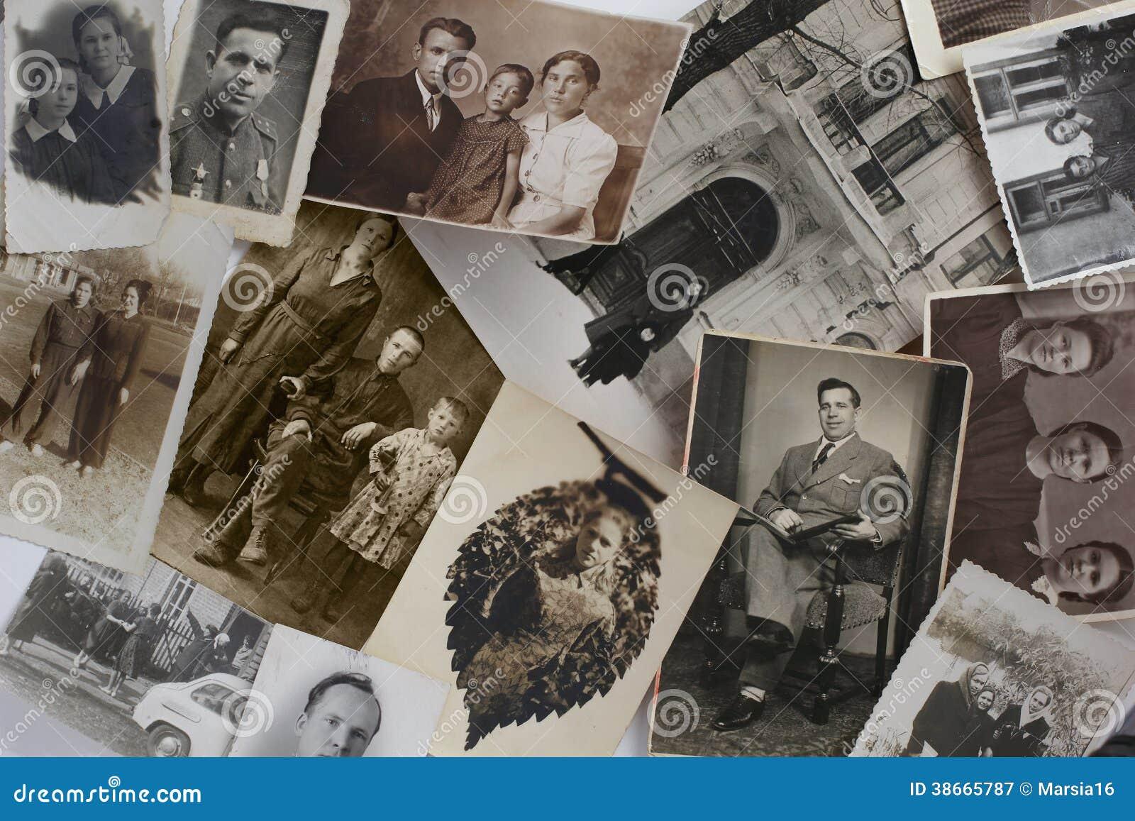 Старые винтажные фото