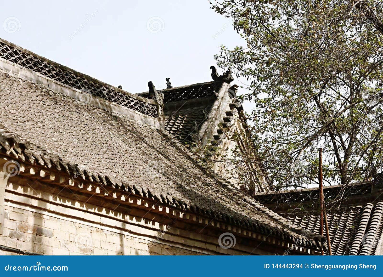 Старые крыши деревни