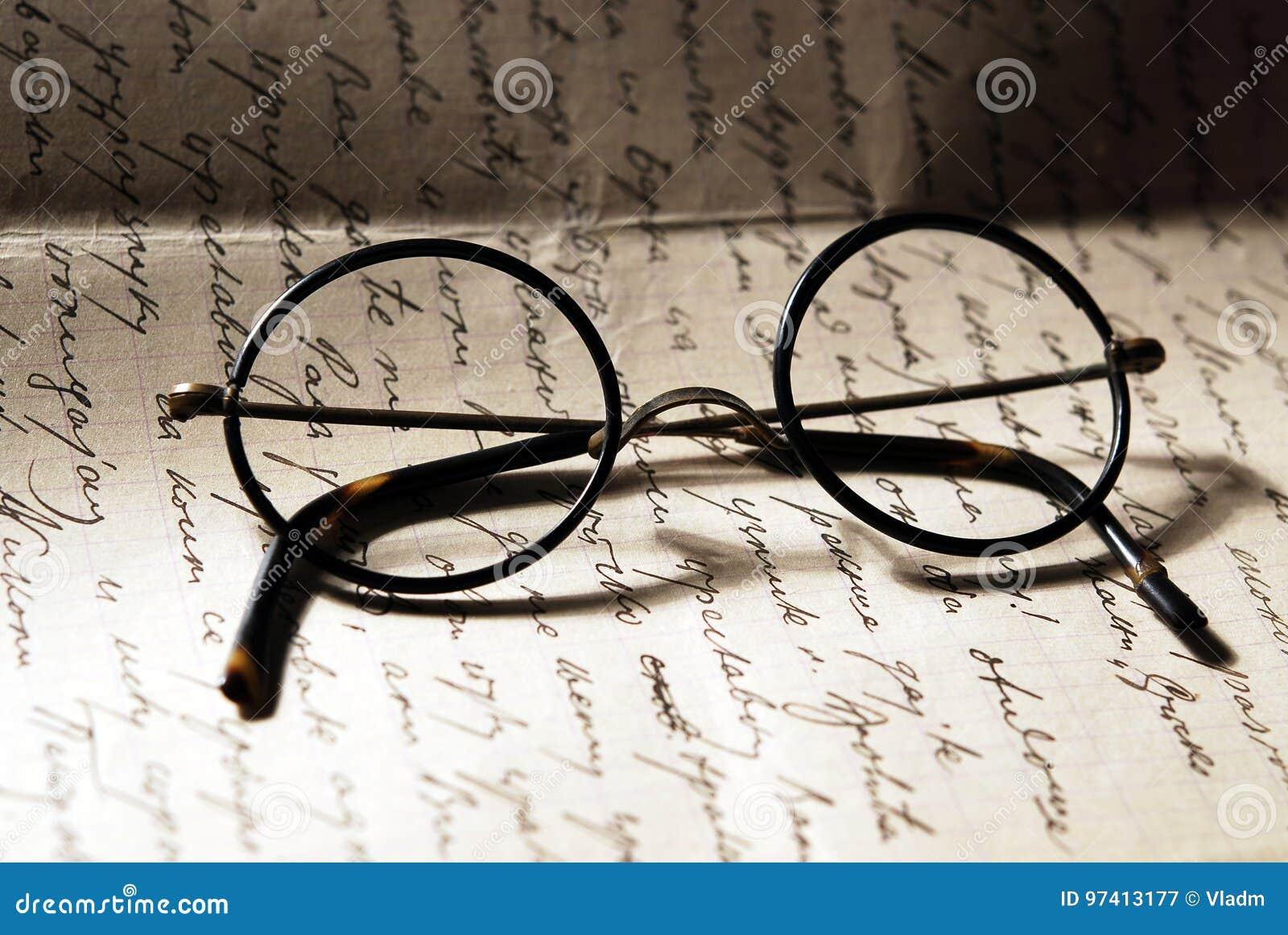 Старые стекла на письме