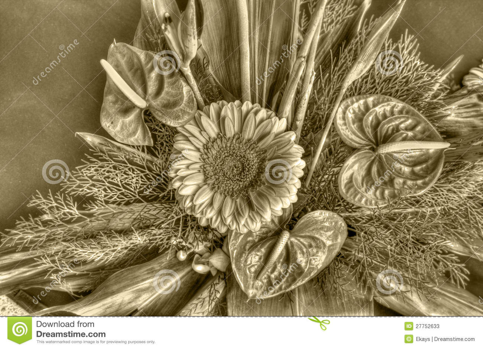 Старые цветки