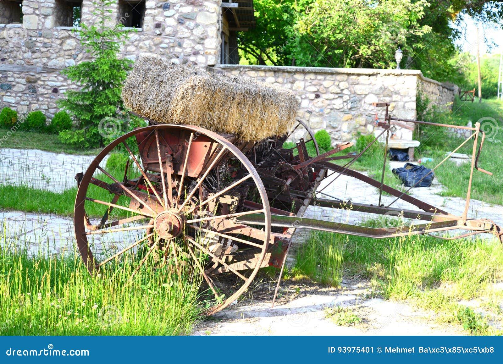 Старый аграрный корабль