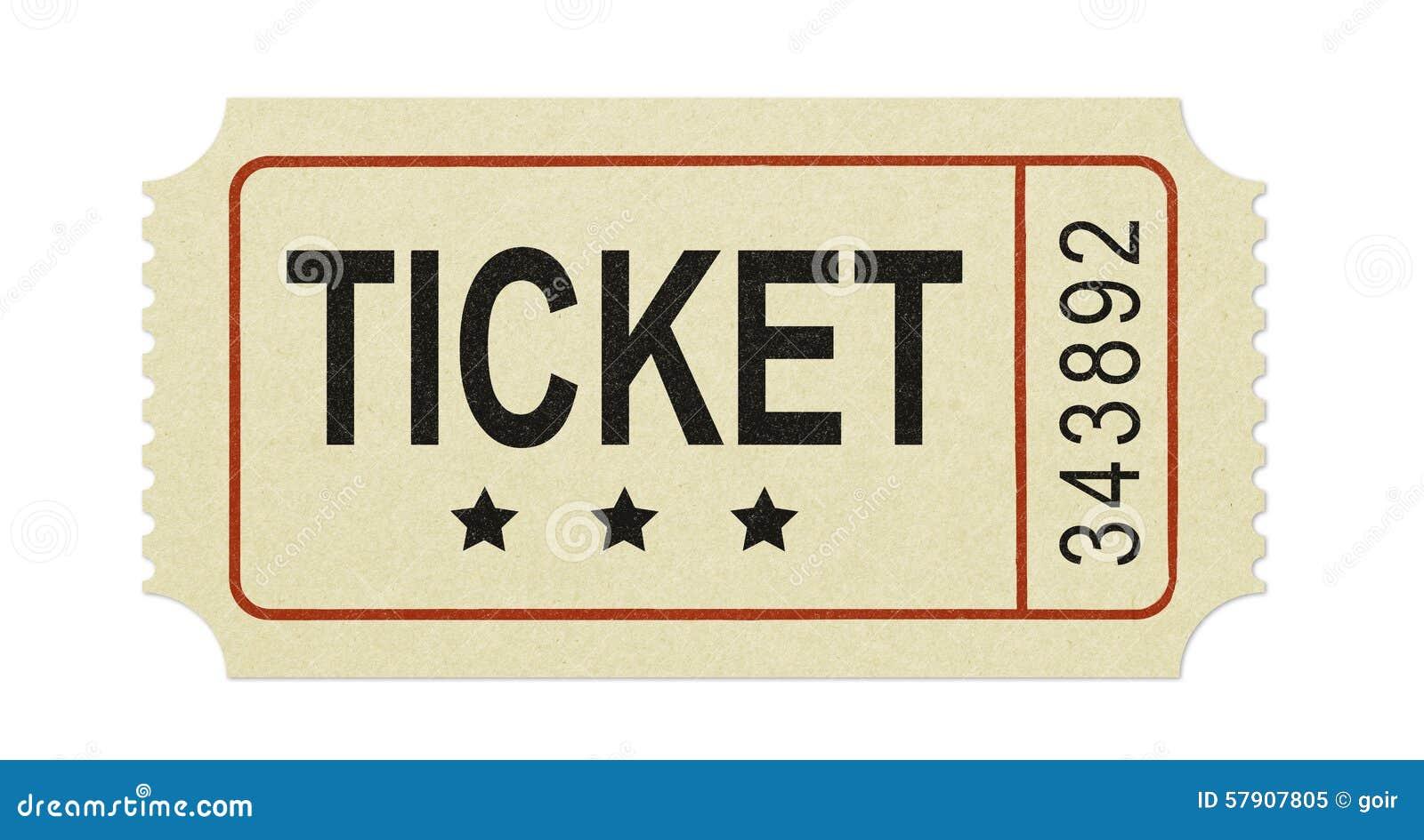 старый билет