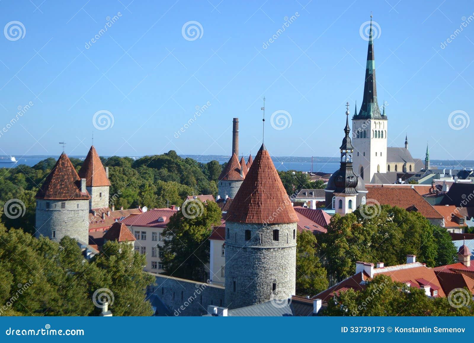Старый городок в Таллине