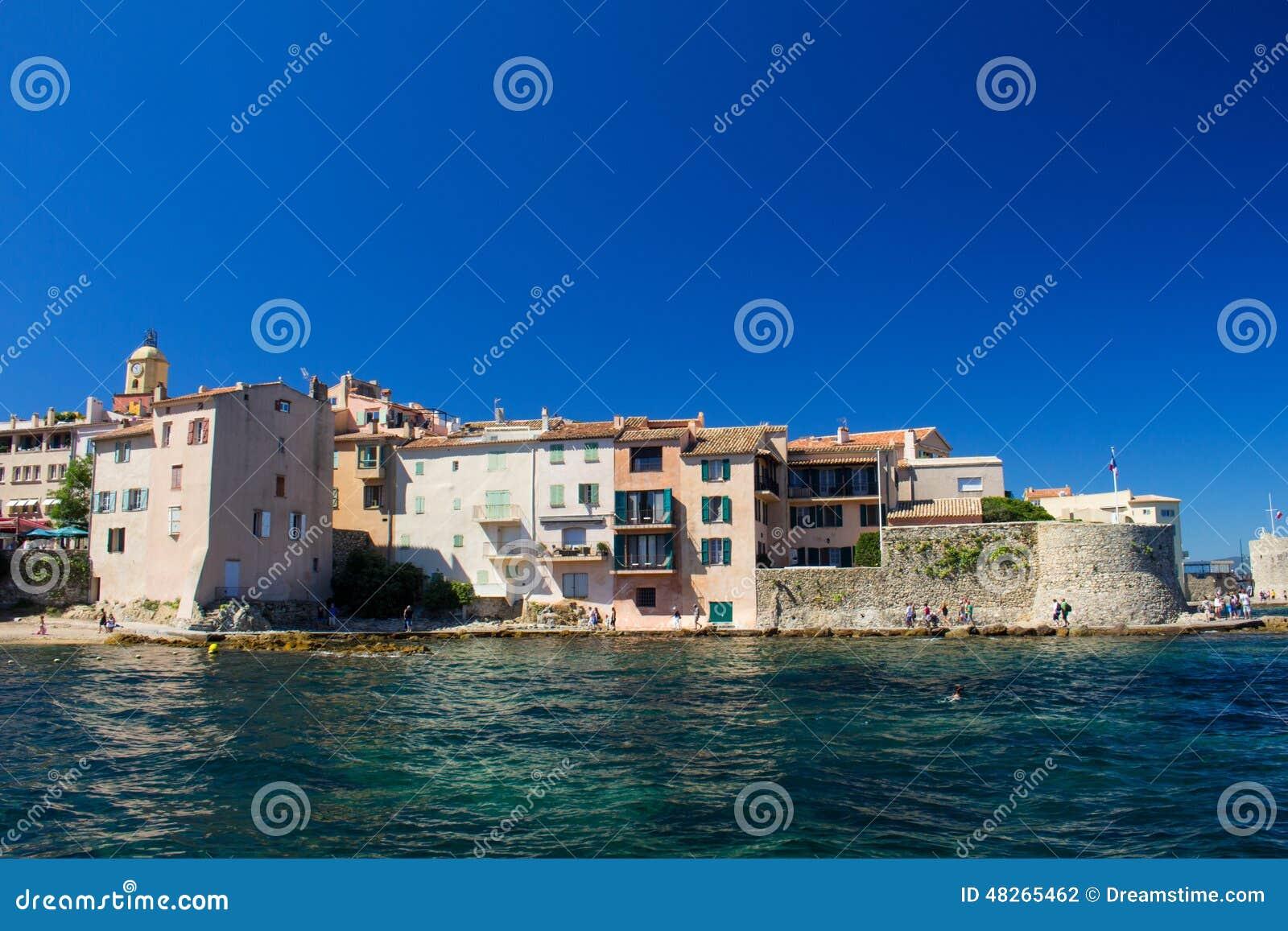 Старый город St Tropez