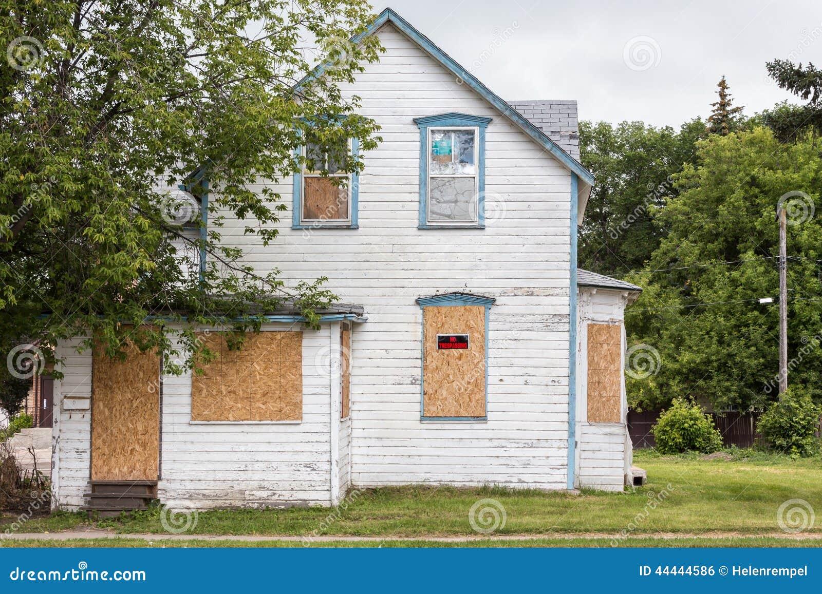 Старый засуженный дом