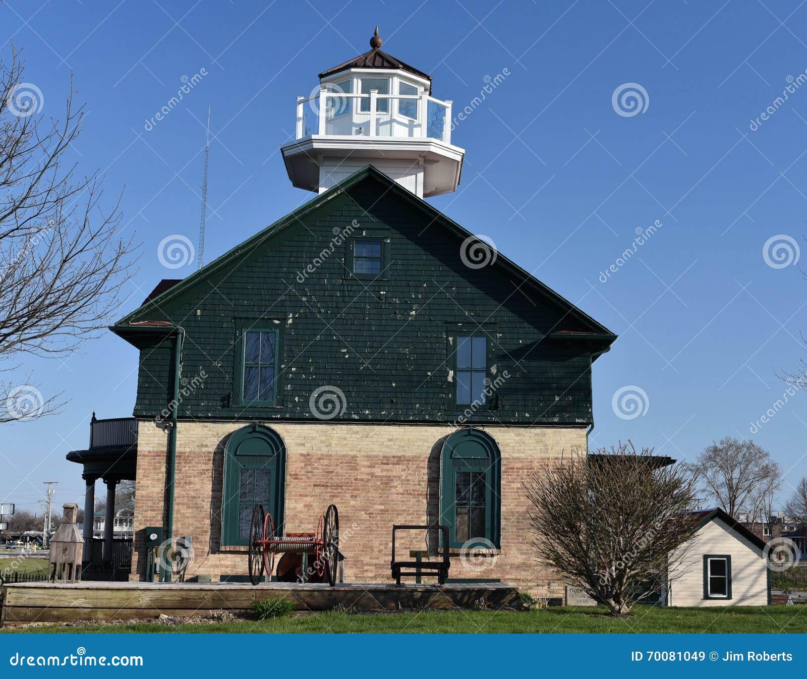 Старый маяк города Мичигана