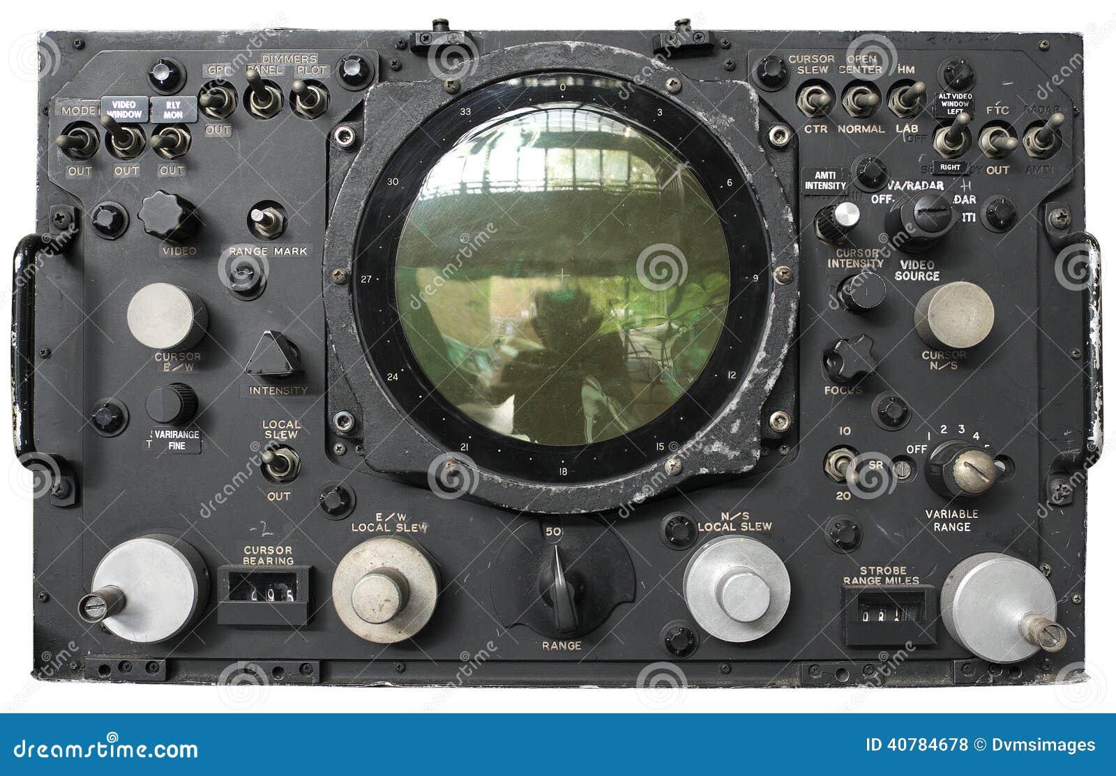 Старый радиолокатор