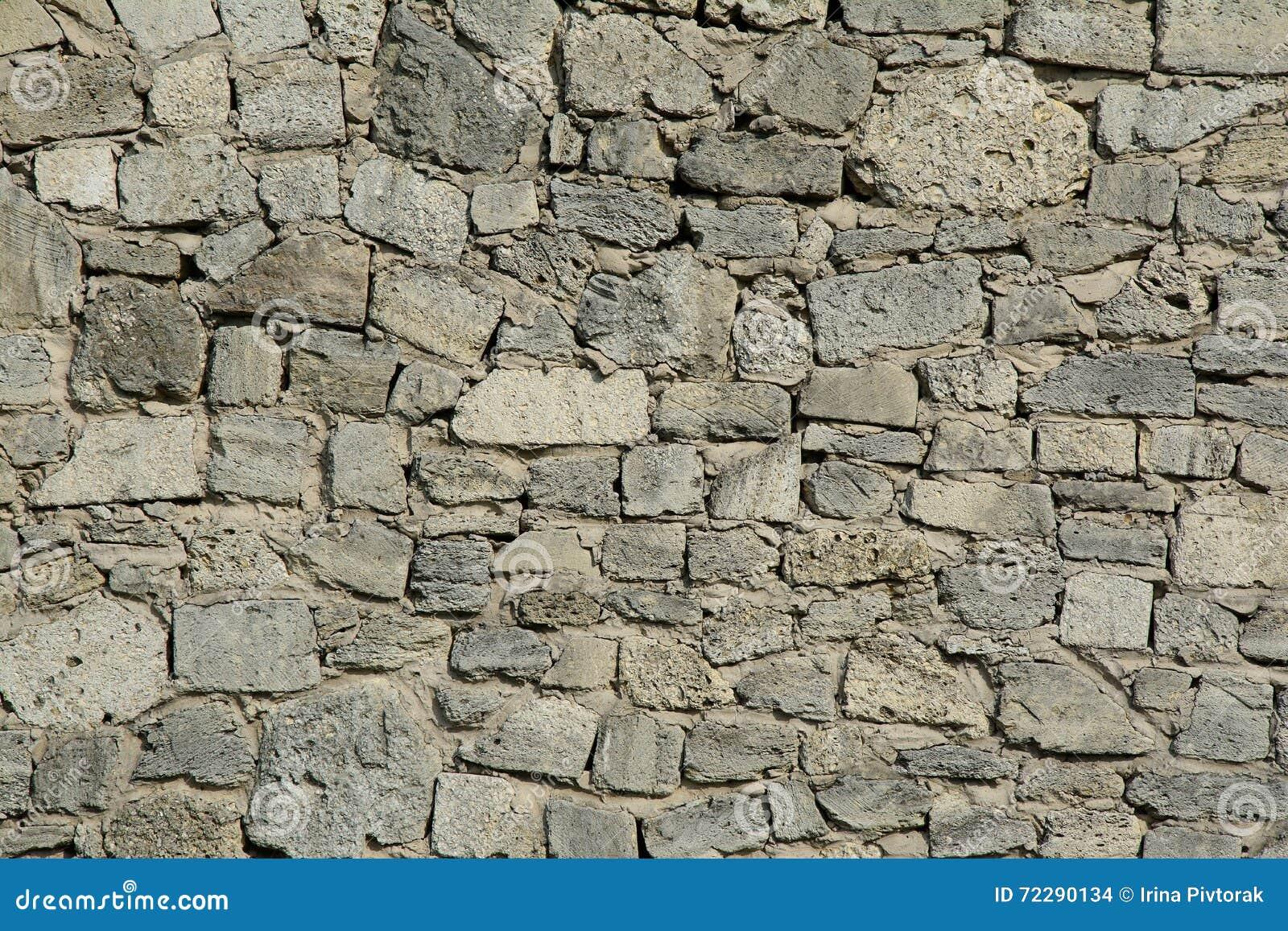 Download Старый серый каменный Masonry Стоковое Фото - изображение насчитывающей наведенное, фасад: 72290134