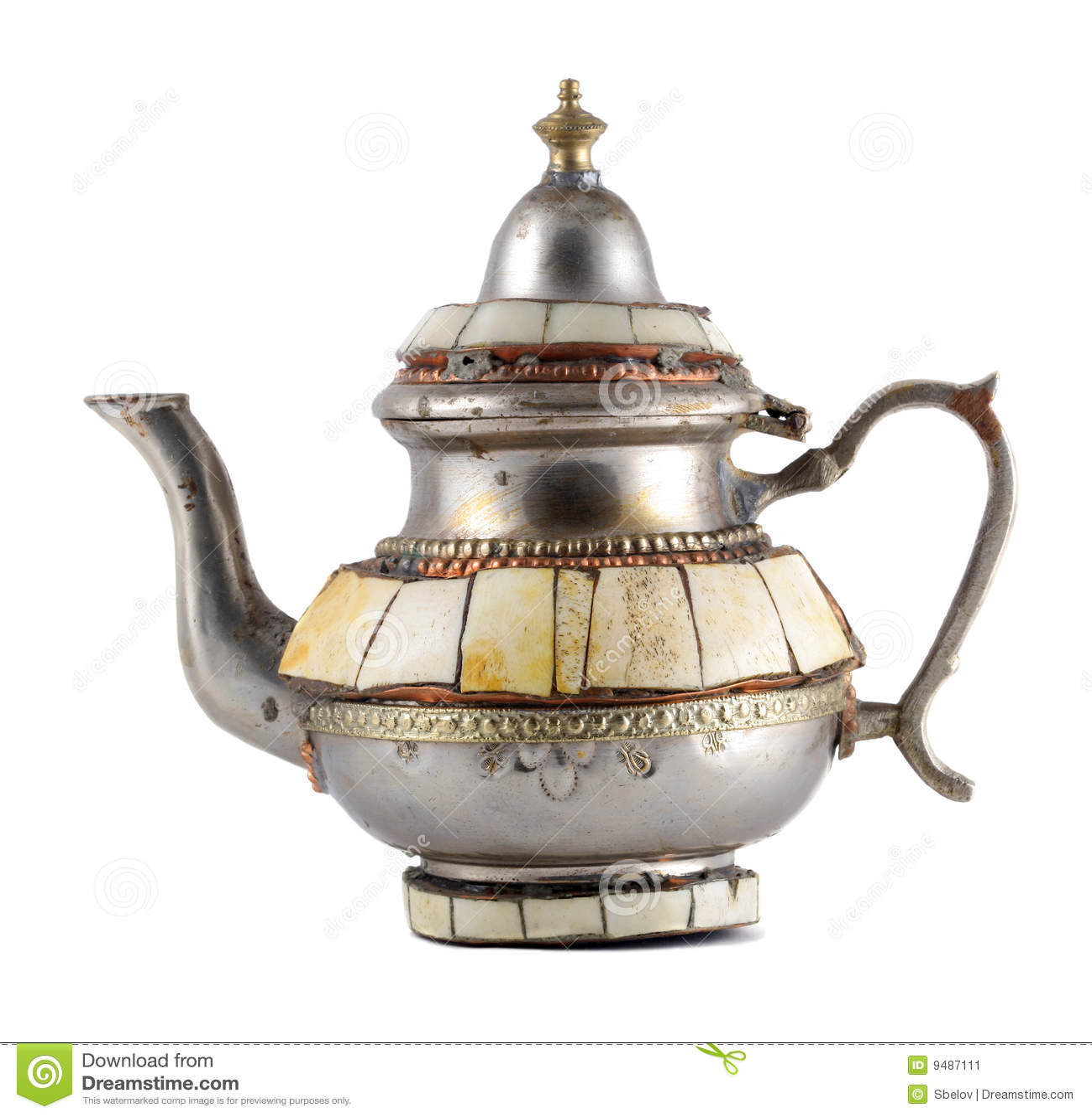 старый чайник