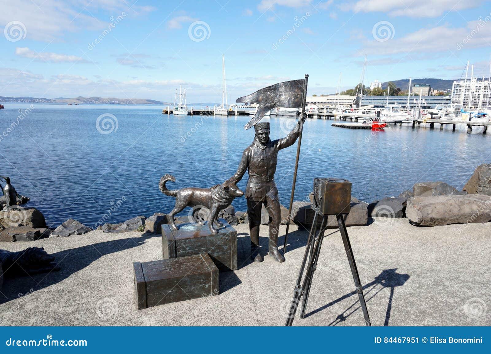 Статуи порта Хобарта