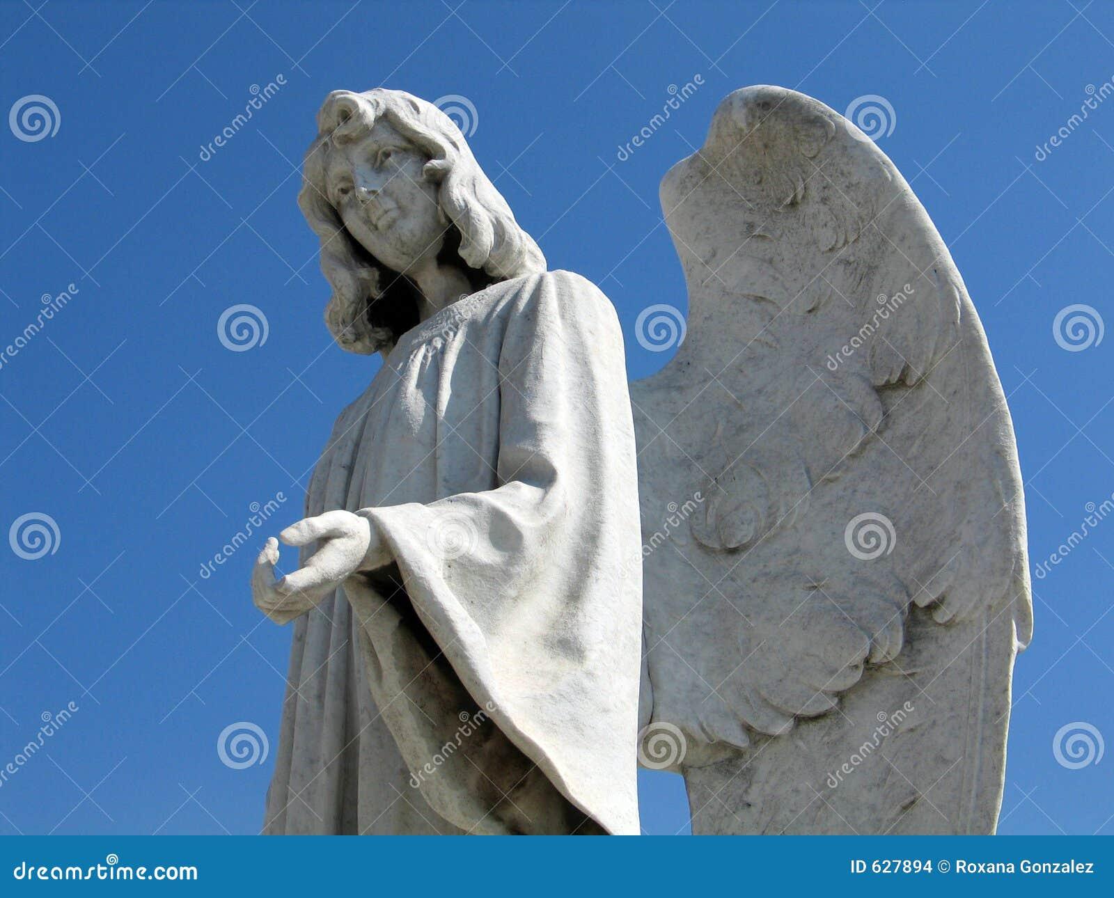 Download статуя ангела стоковое фото. изображение насчитывающей художничества - 627894