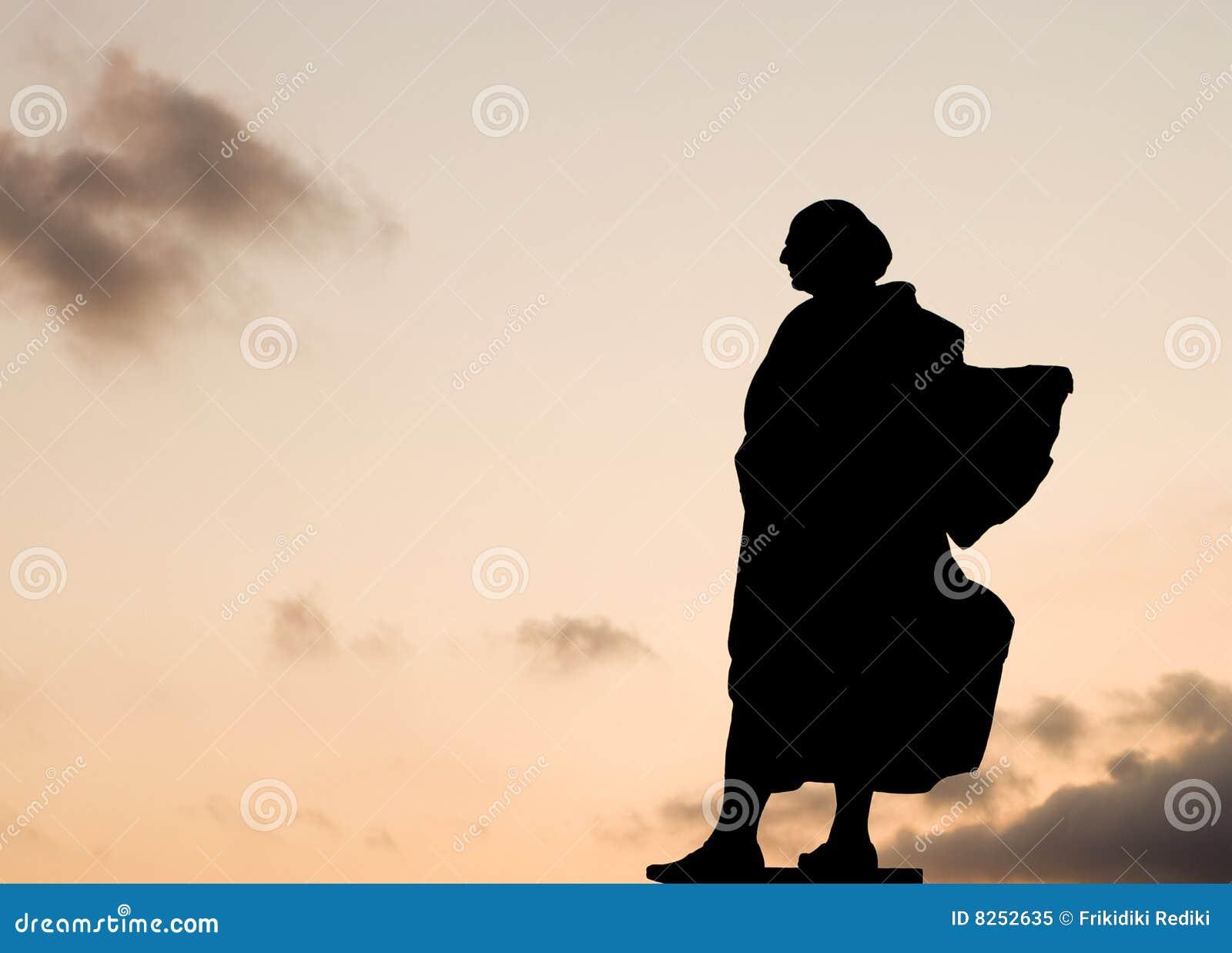 статуя Христофора columbus