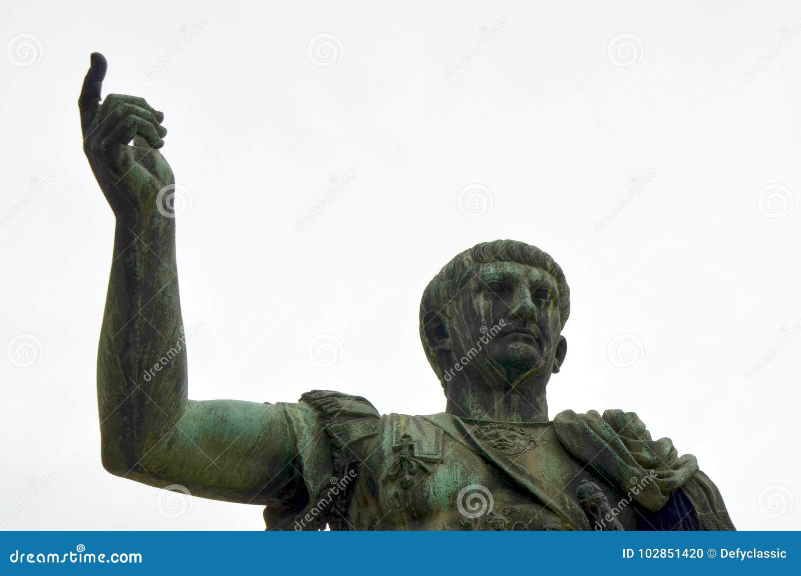 Статуя Octavian Augustus в Риме, Италии