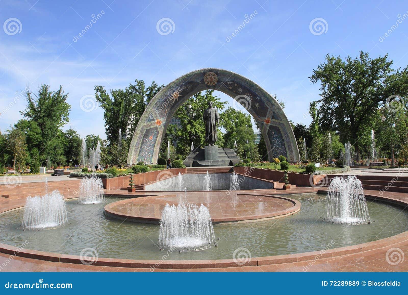 Download Статуя Rudaki в городе Душанбе, Таджикистане Стоковое Изображение - изображение насчитывающей памятник, поет: 72289889