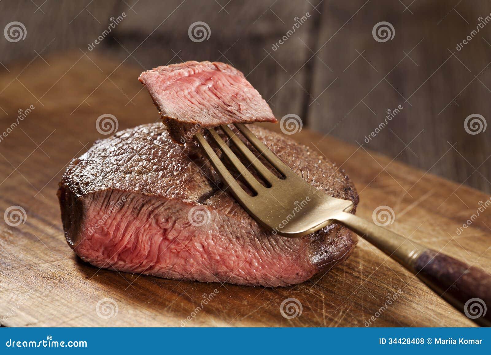 Стейк говядины
