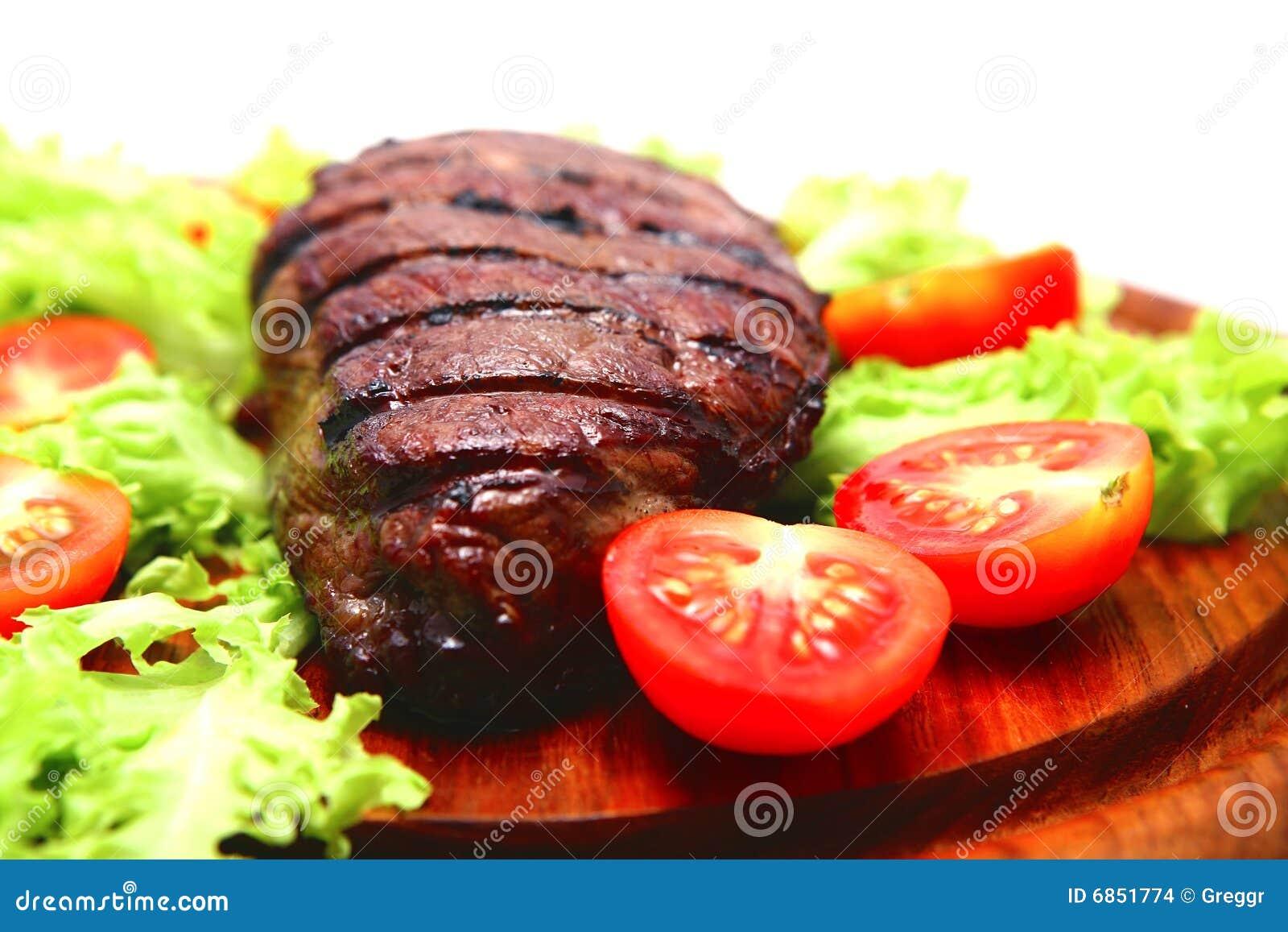 стейк плиты мяса говядины деревянный