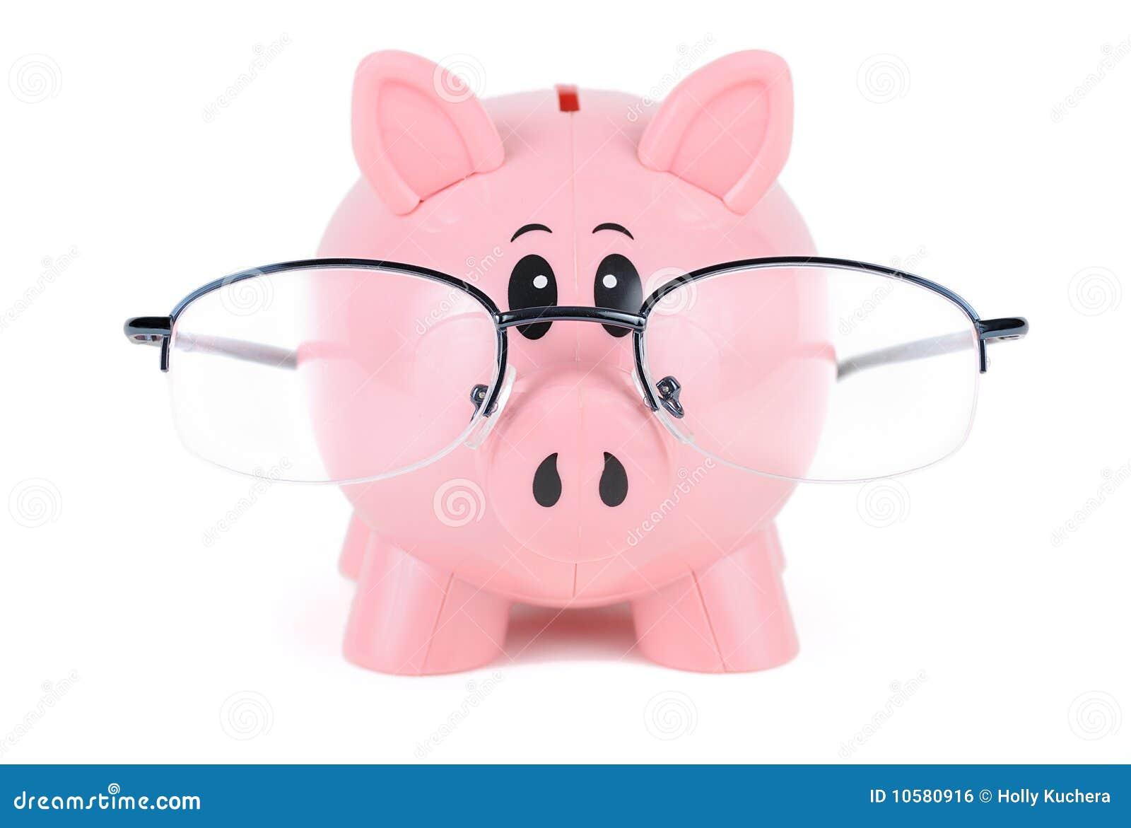 стекла банка piggy