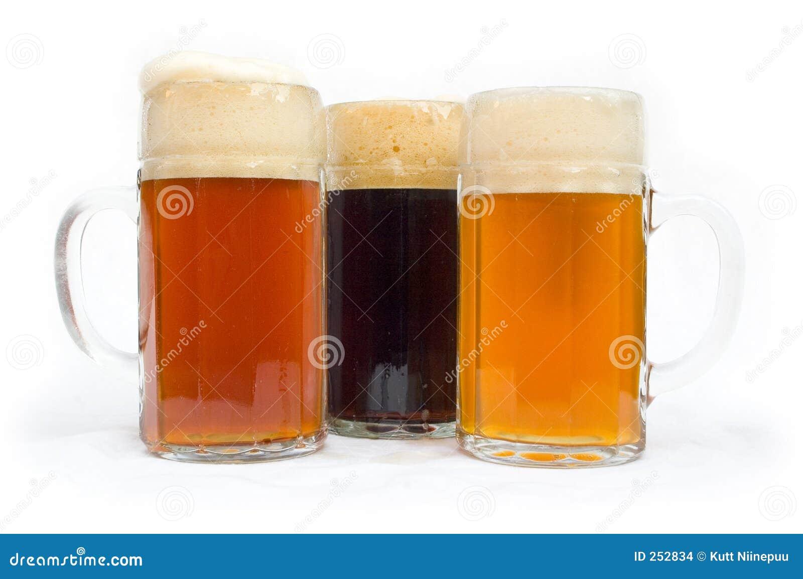стекла пива