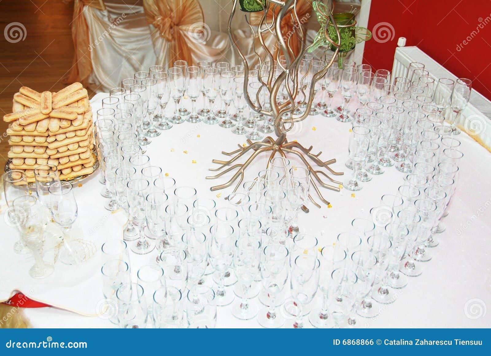 стекла шампанского