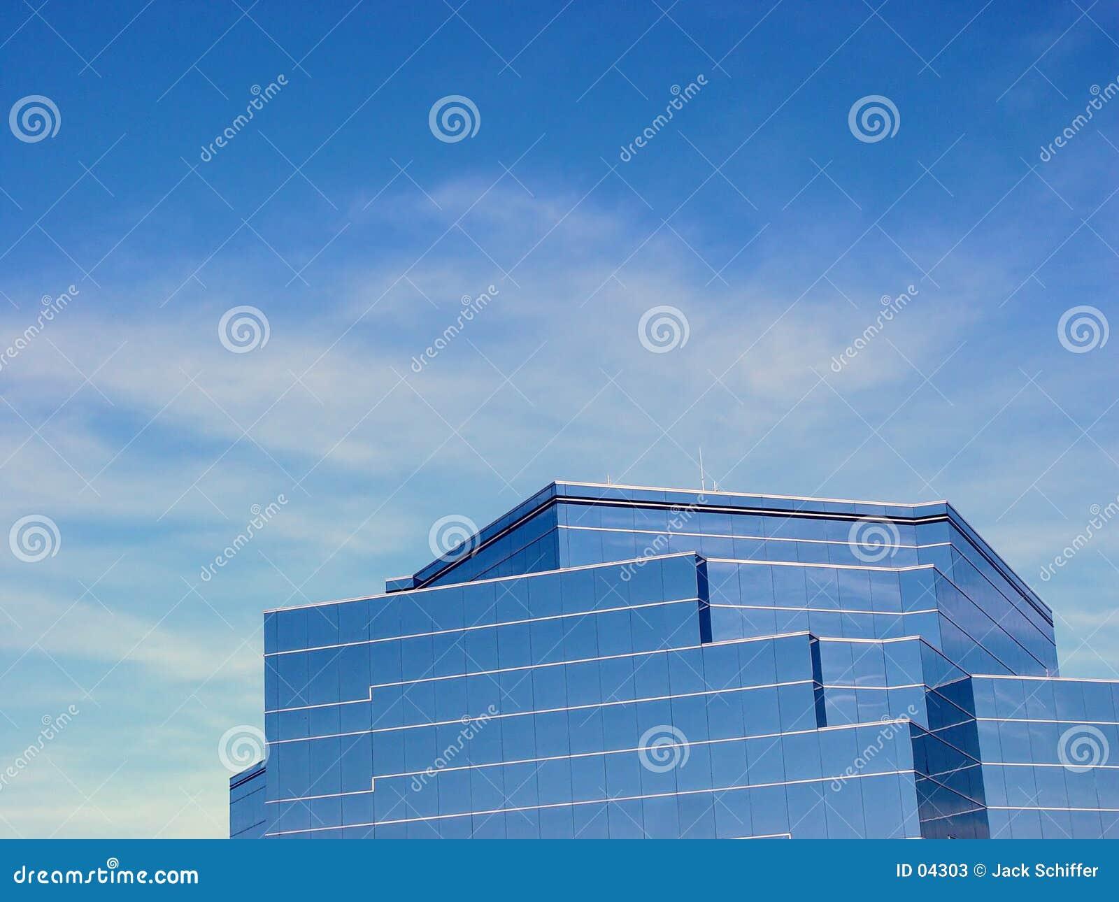 стекло здания