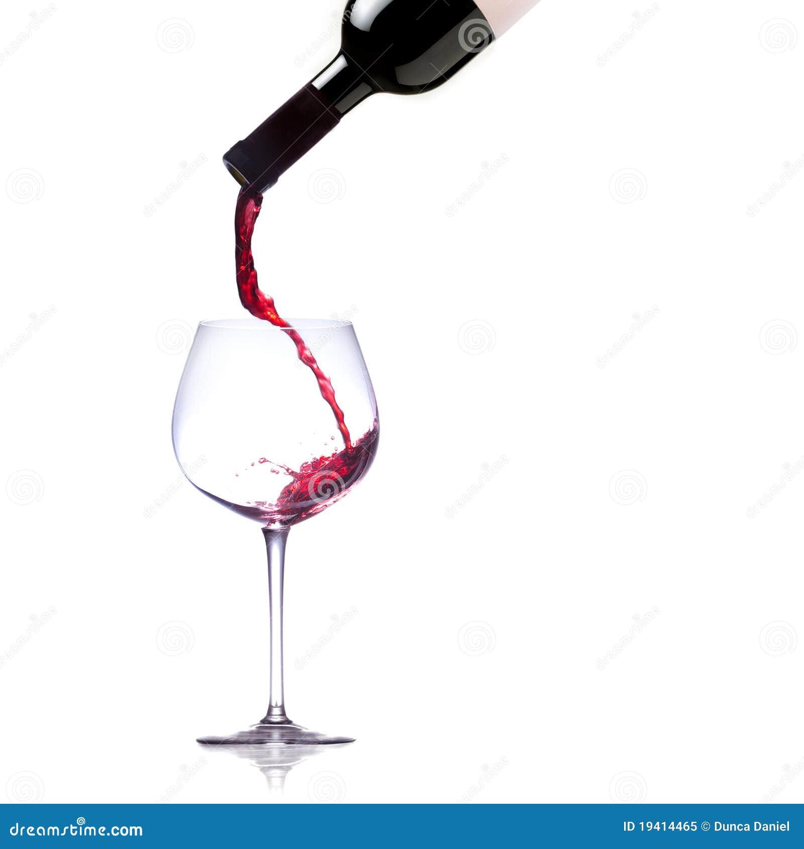 стекло красное вино
