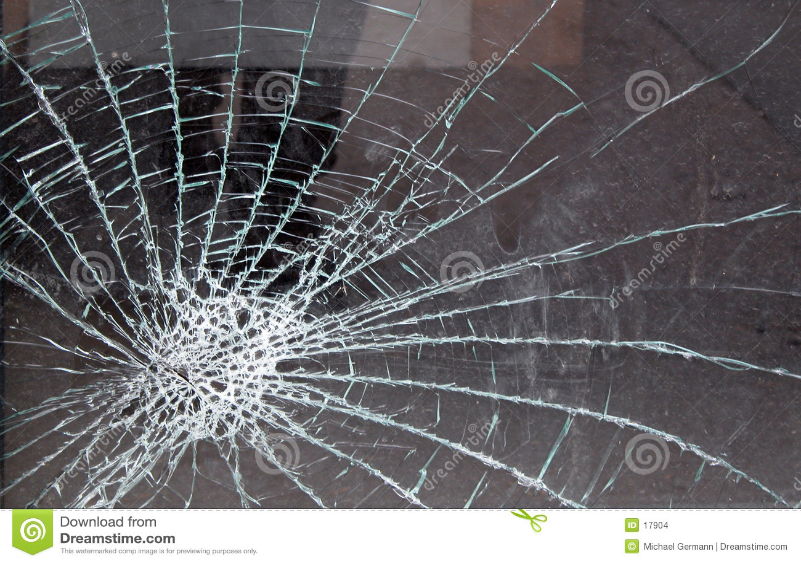 стекло разрушило
