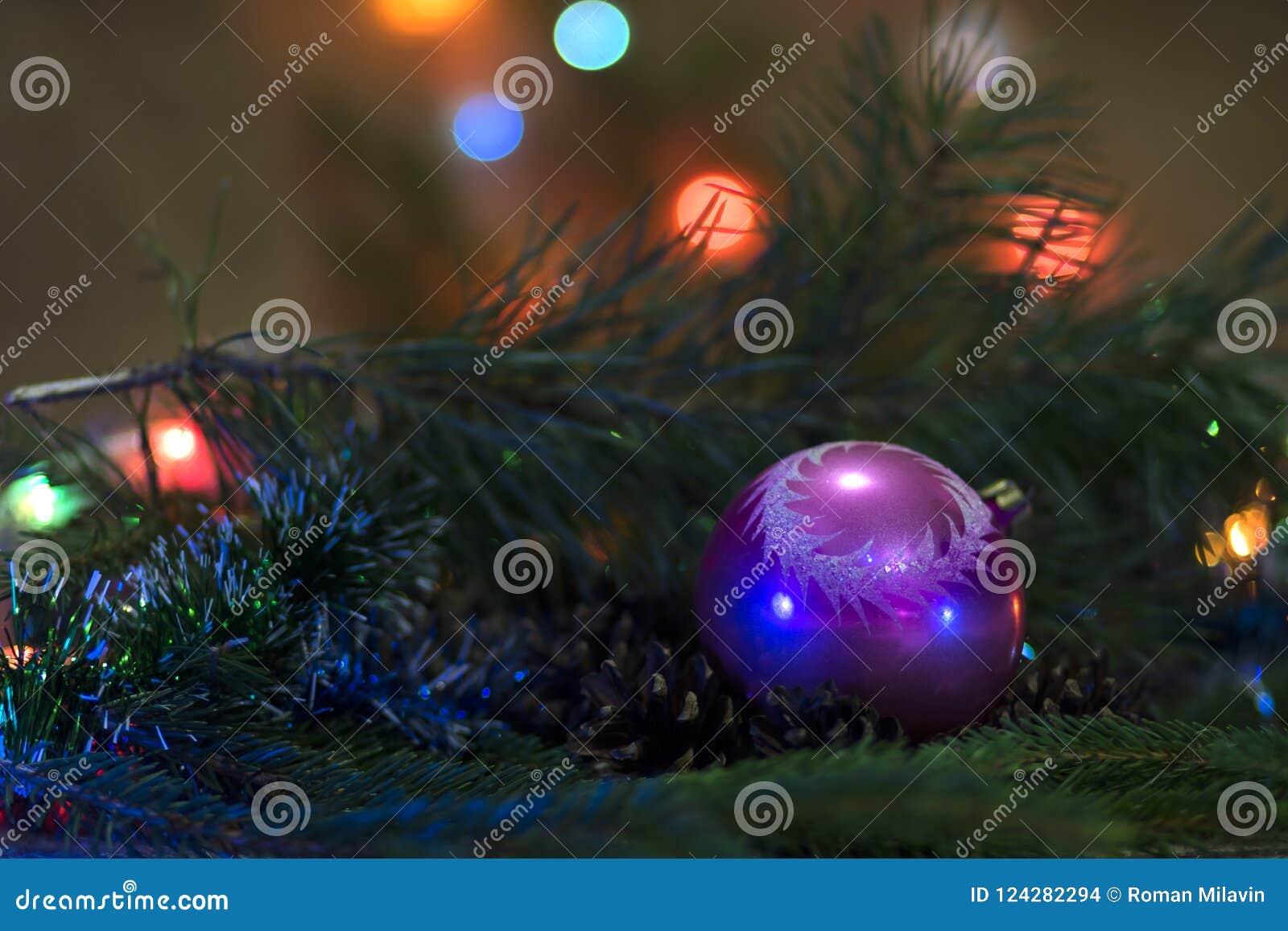 стекло состава рождества bauble голубое Унижение ` s Нового Года Игрушка ` s Нового Года - шарик для украшать рождественскую елку