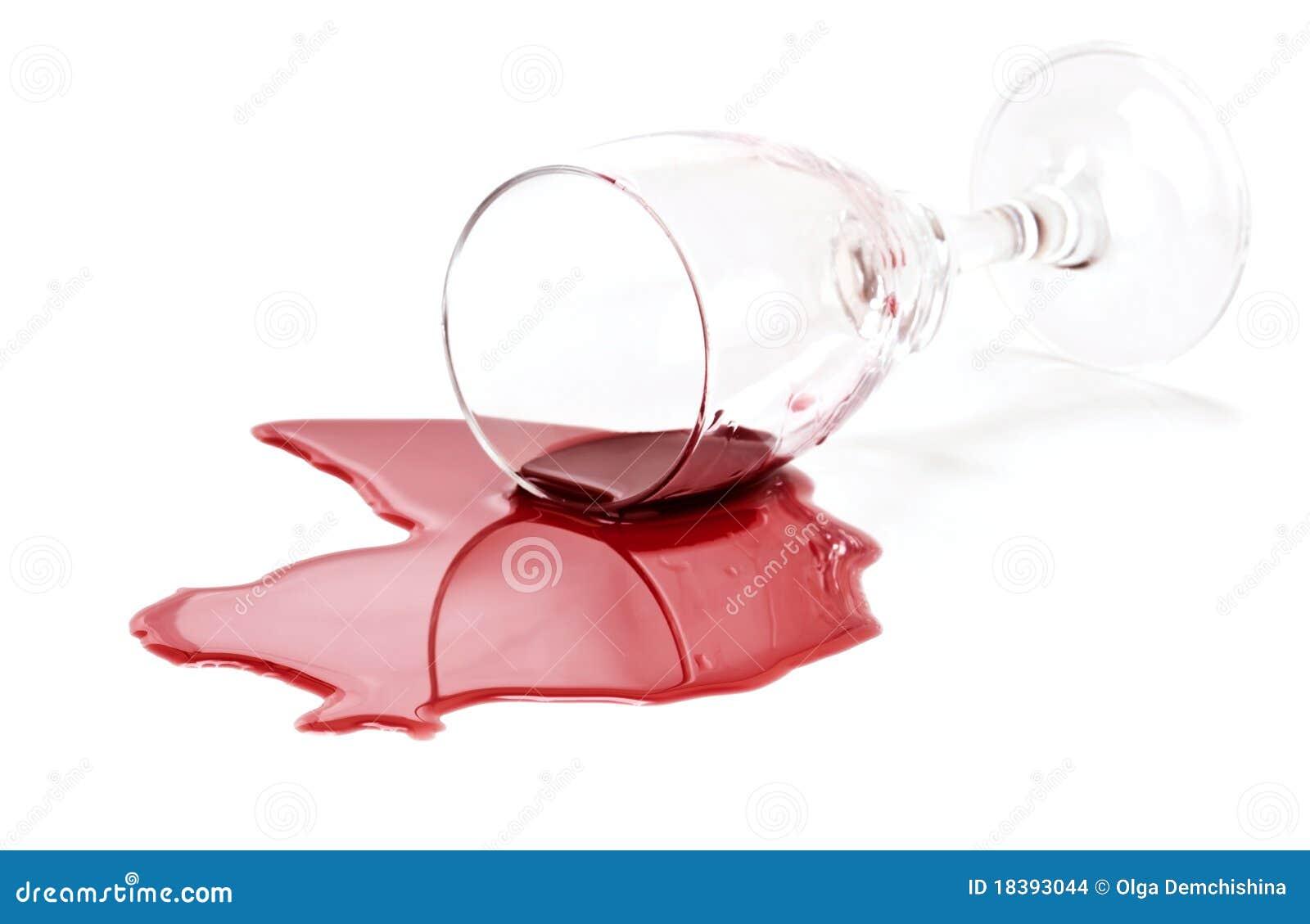 стеклянное красное разленное вино