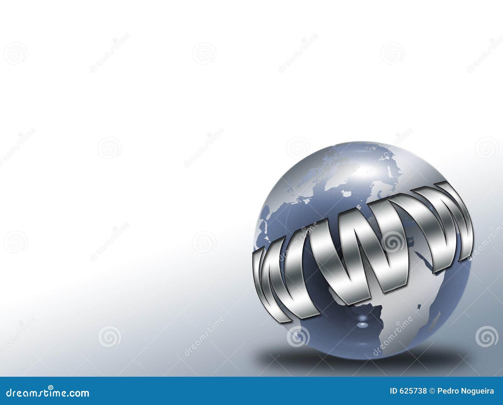 Download стеклянный глобус иллюстрация штока. иллюстрации насчитывающей футуристическо - 625738