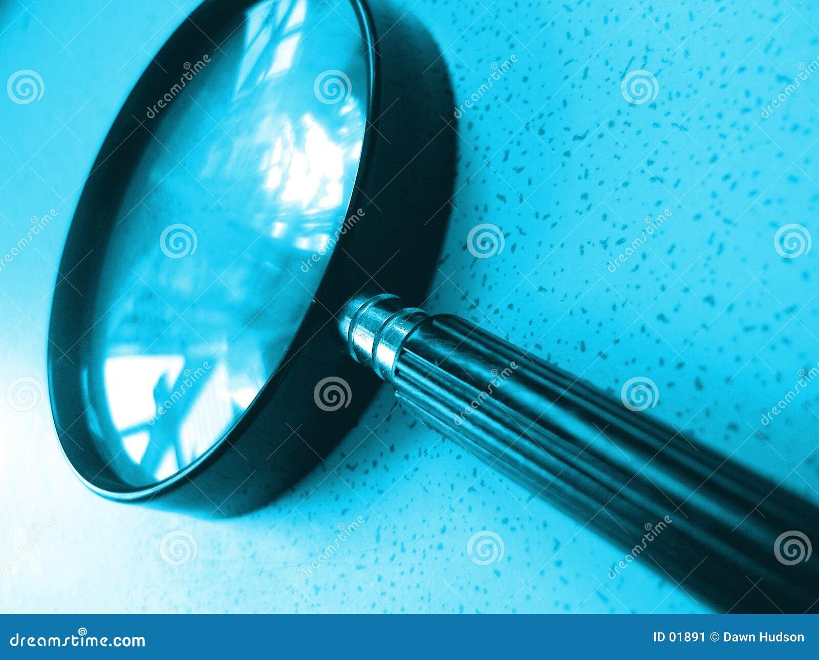 стеклянный magnifing