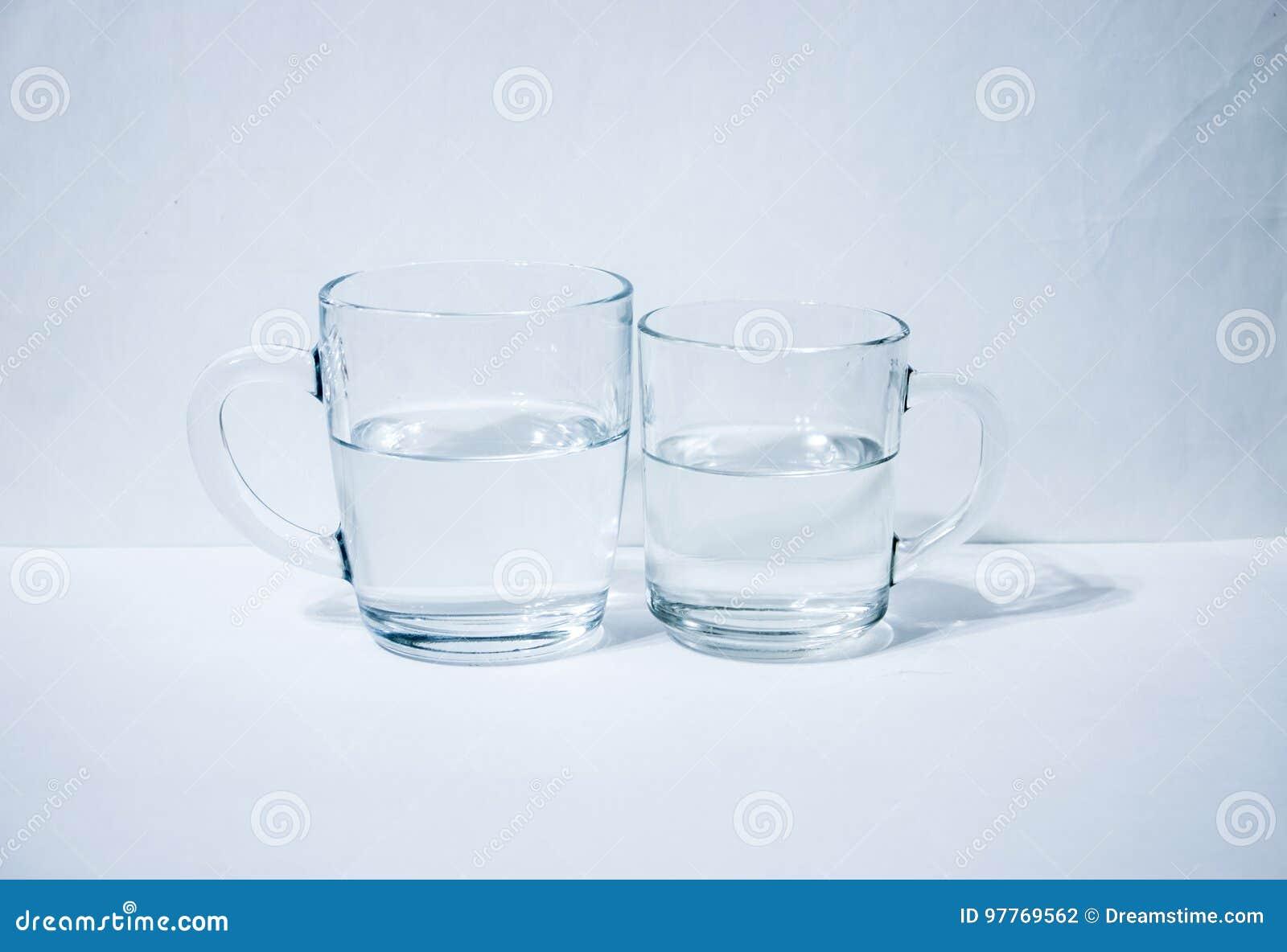 2 стекла воды