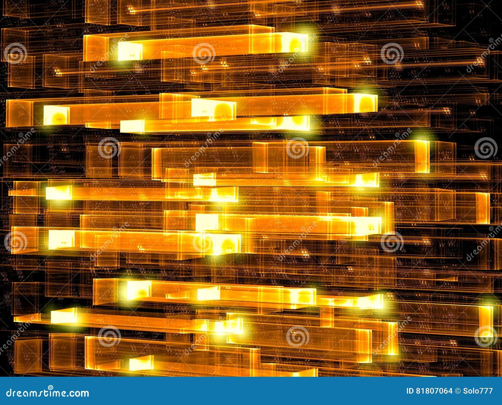Стеклянная решетка - изображение конспекта цифров произведенное