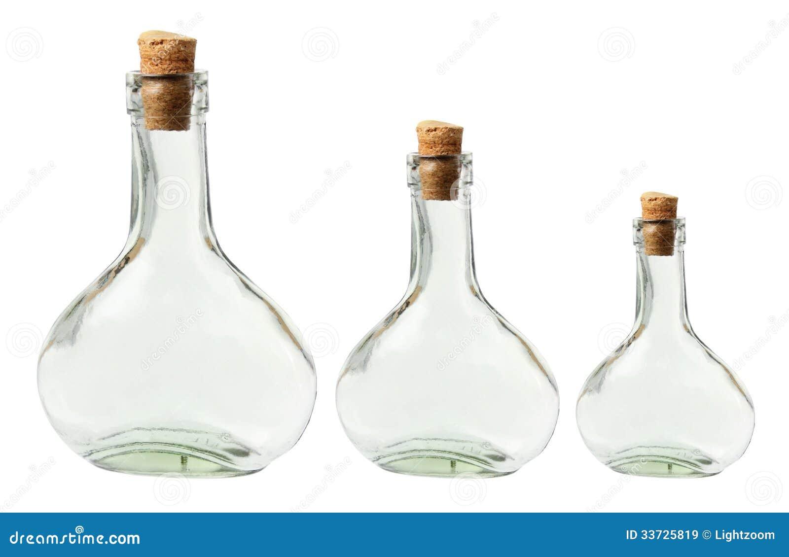 Стеклянные бутылки