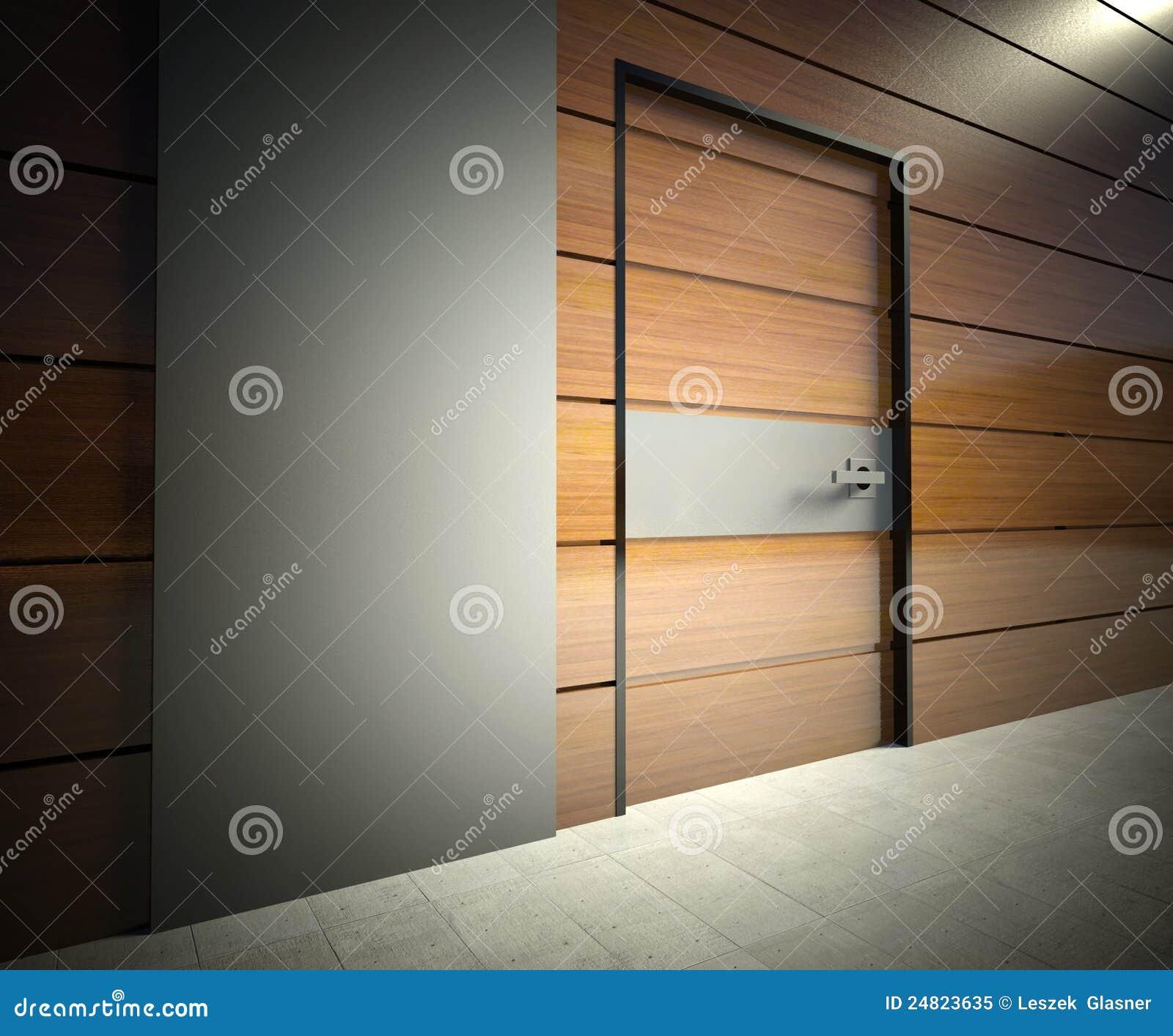 стена двери 3d нутряная самомоднейшая