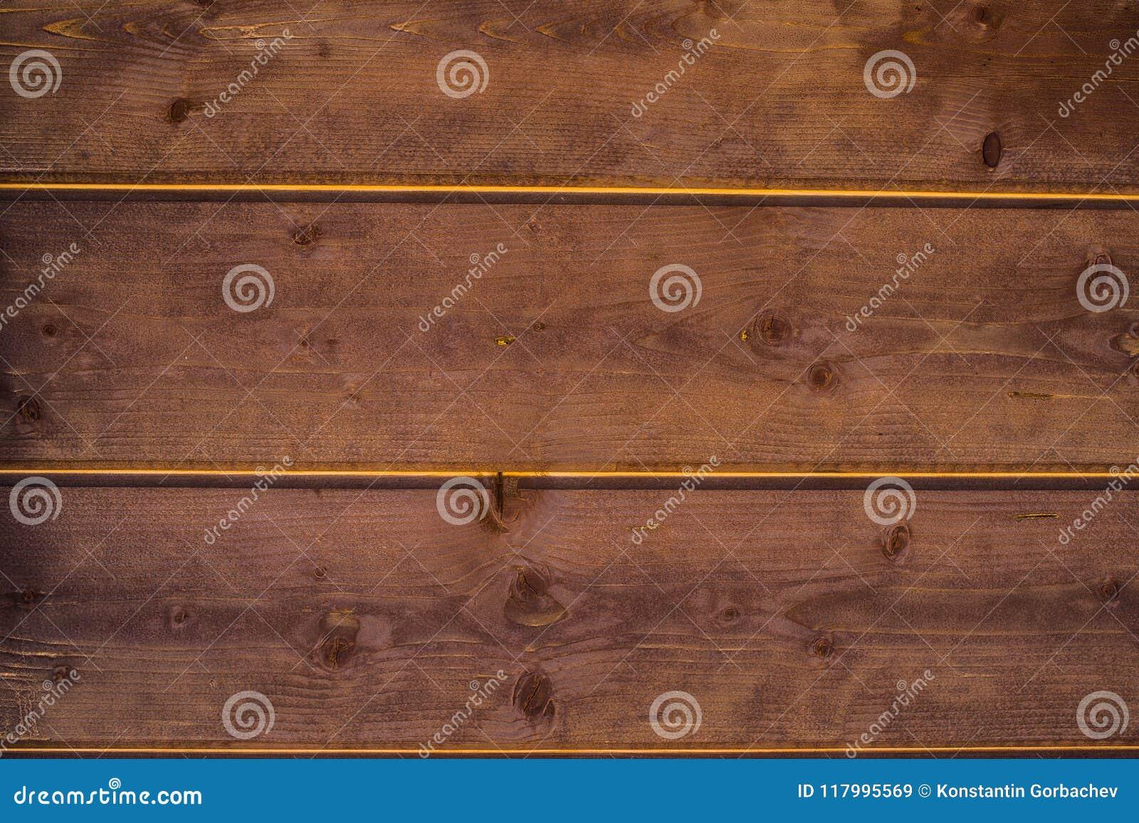 Стена деревянных доск в винтажном стиле