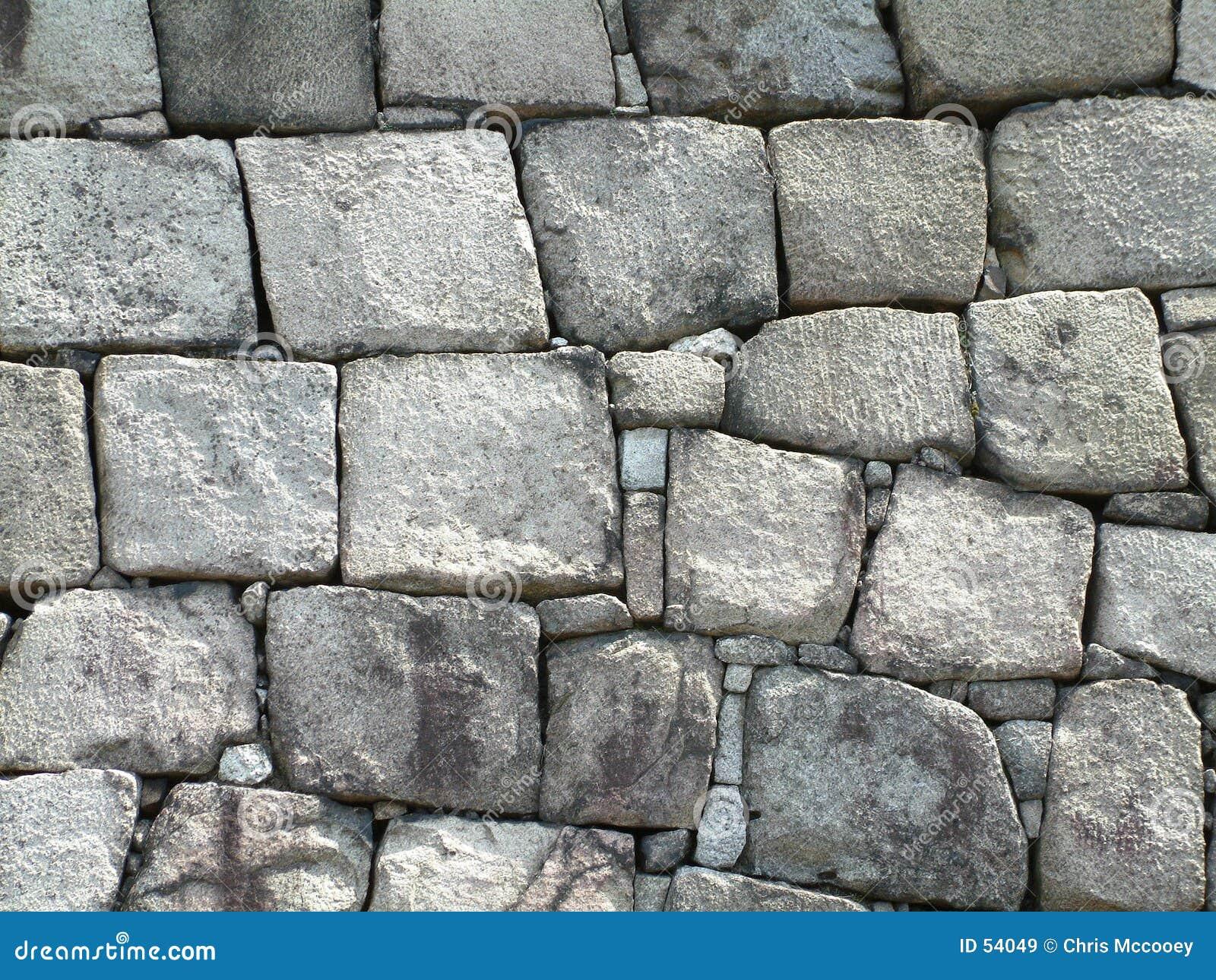 стена замока