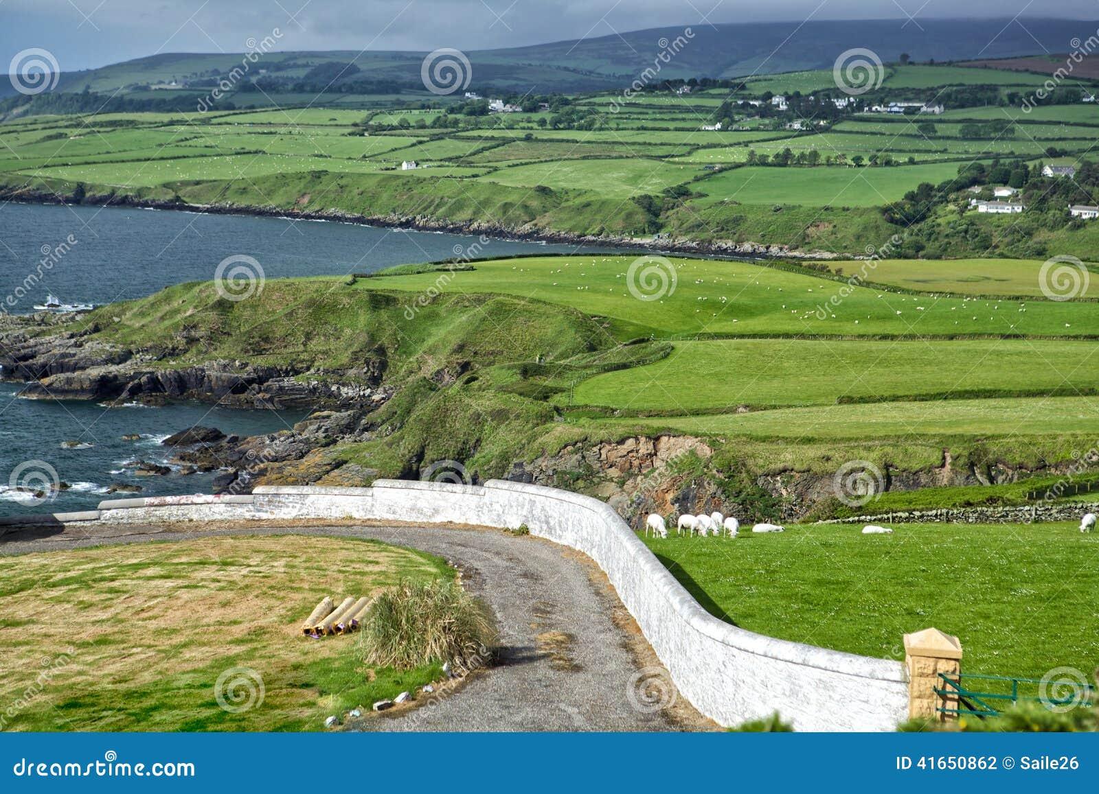Стена и побережье