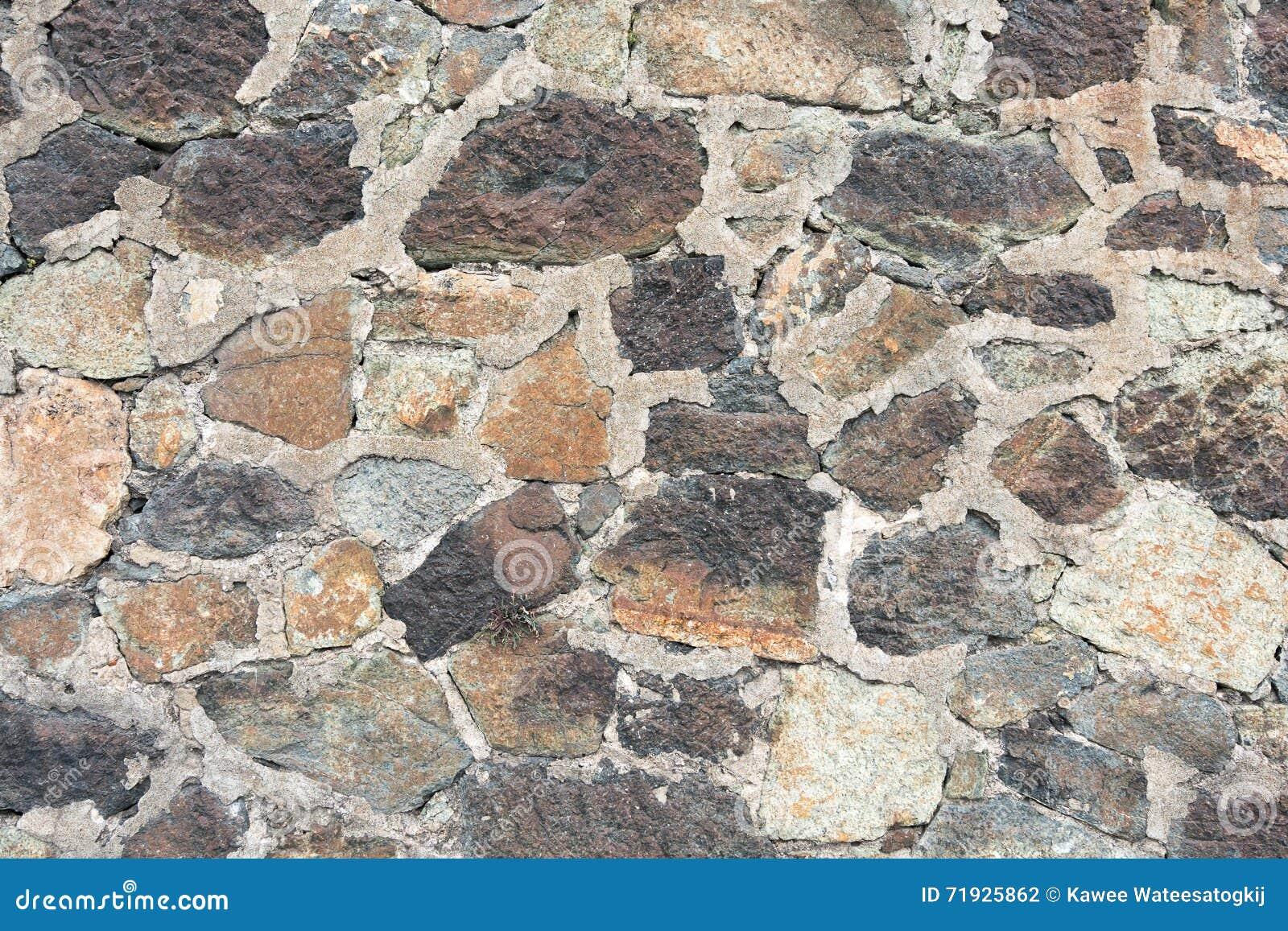 Стена камня и цемента, предпосылки текстуры