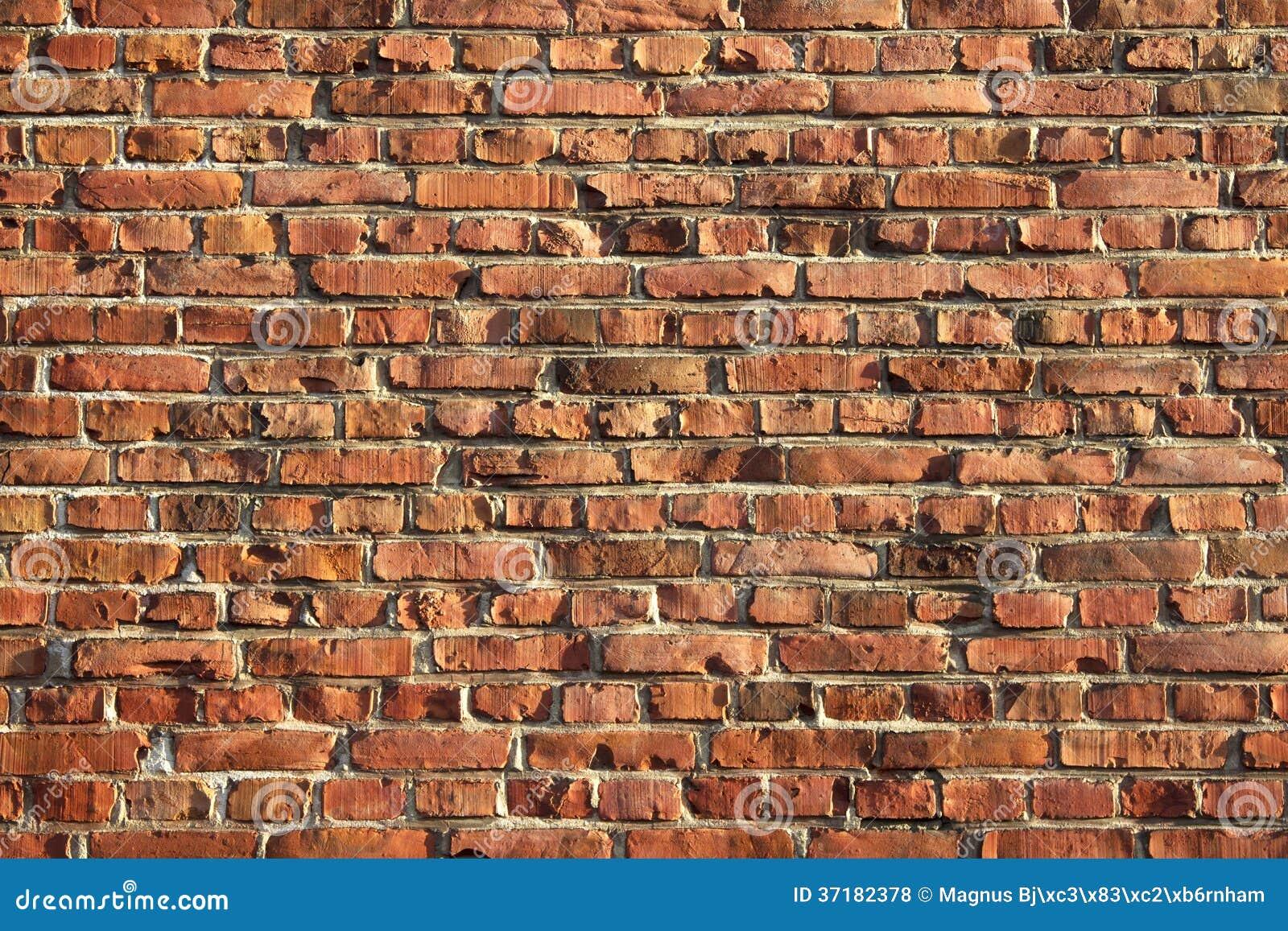 Стена кирпича