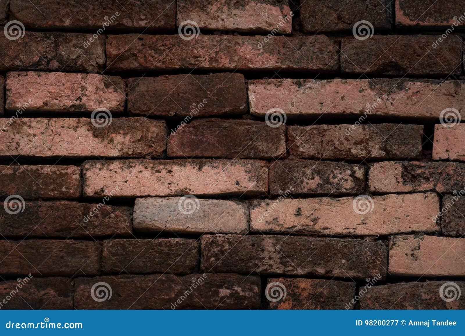 Download стена текстуры кирпича предпосылки старая Стоковое Изображение - изображение насчитывающей backhoe, засорением: 98200277