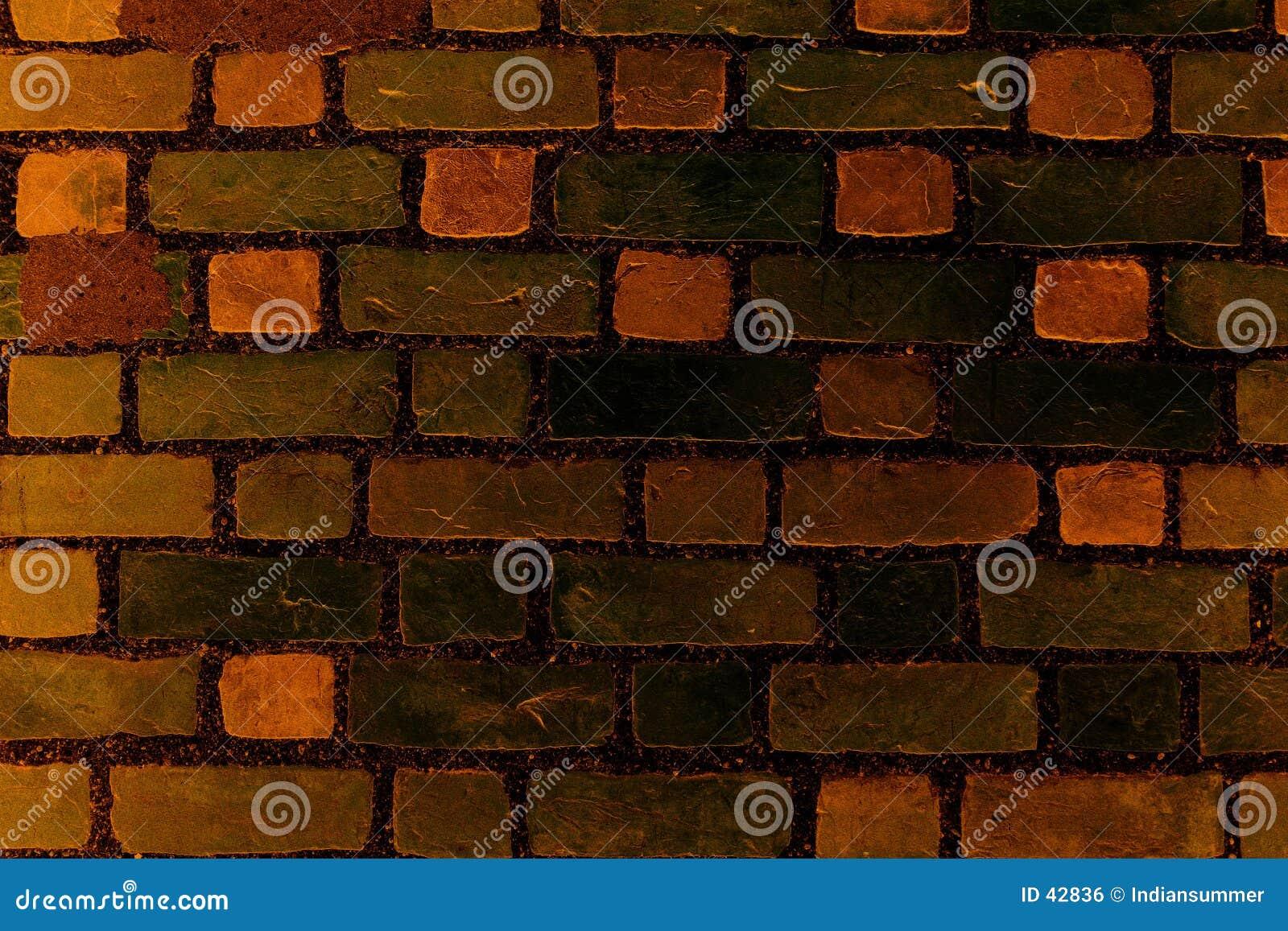 стена текстуры кирпича