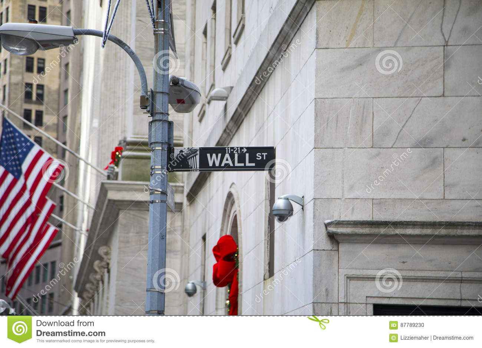 стена улицы знака