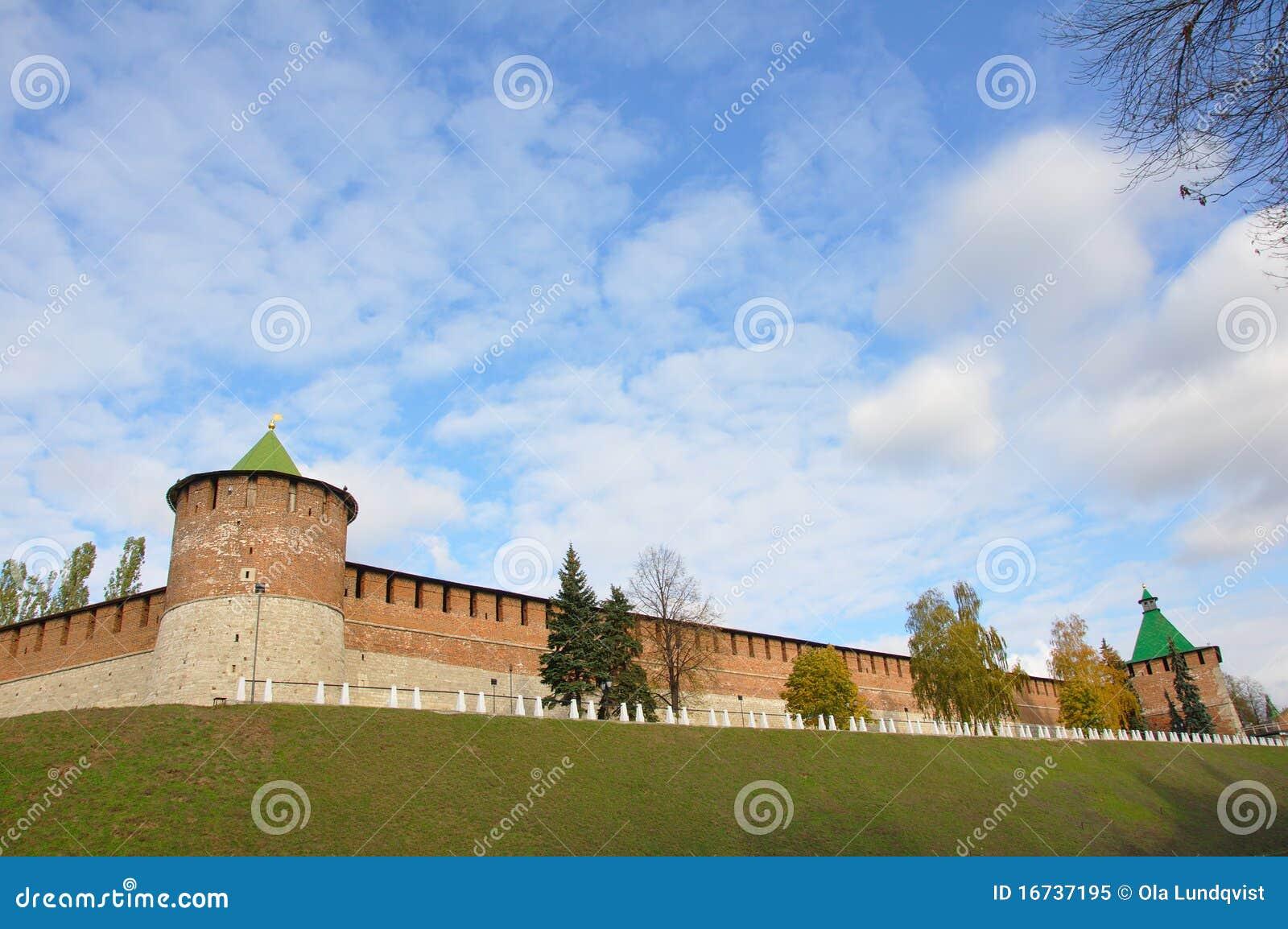 стена kremlin