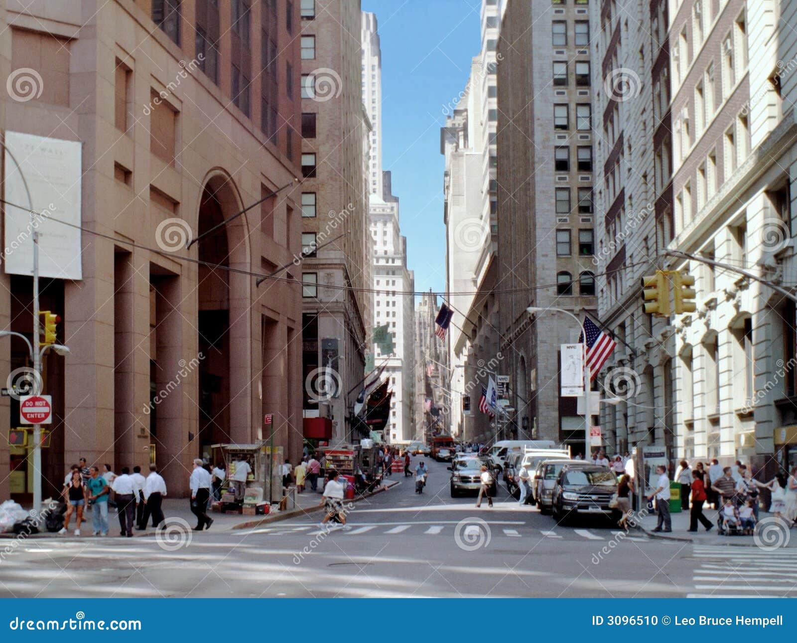 стена york улицы manhattan новая