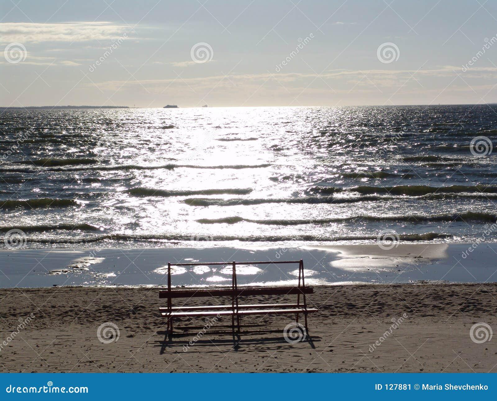 стенд пляжа