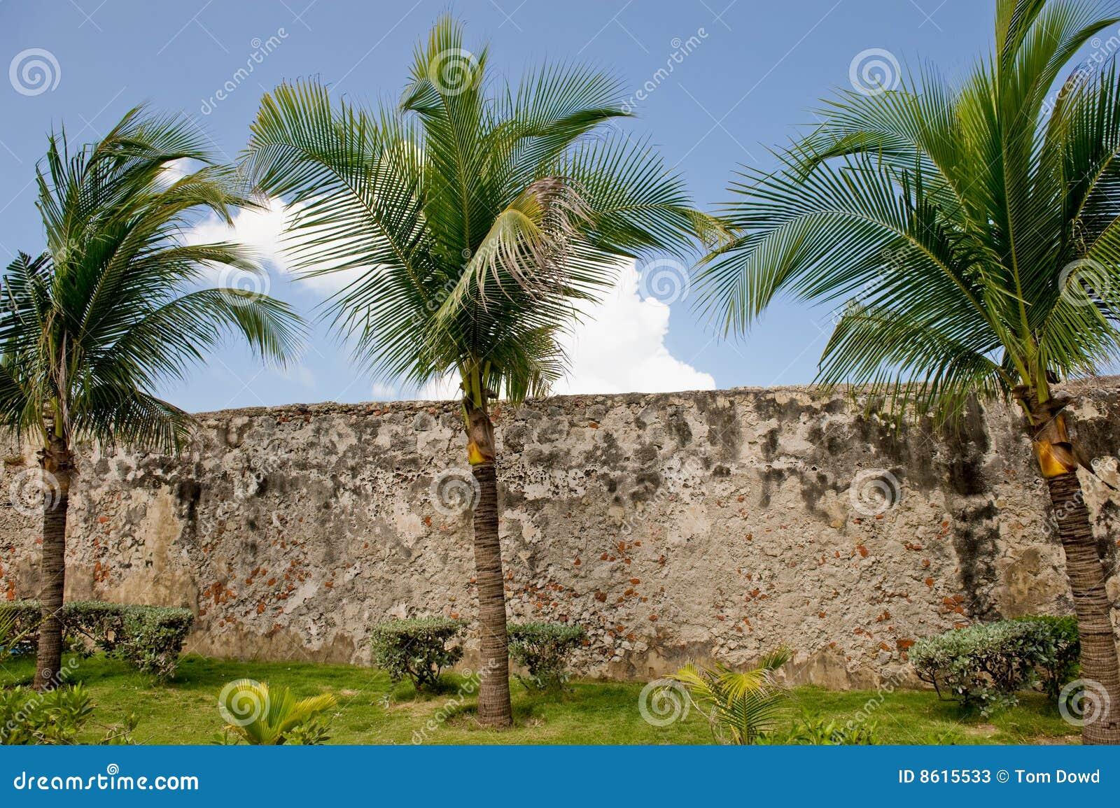стены города cartagena