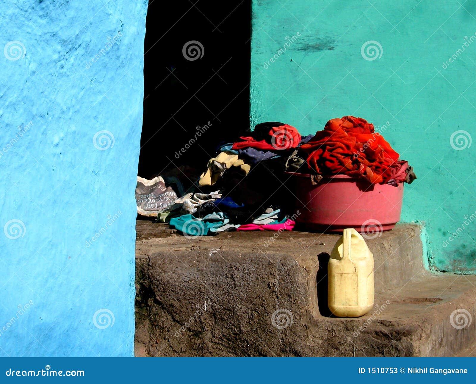 стены цветов одежд